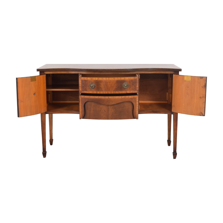 shop  Vintage Hepplewhite Serpentine Sideboard online