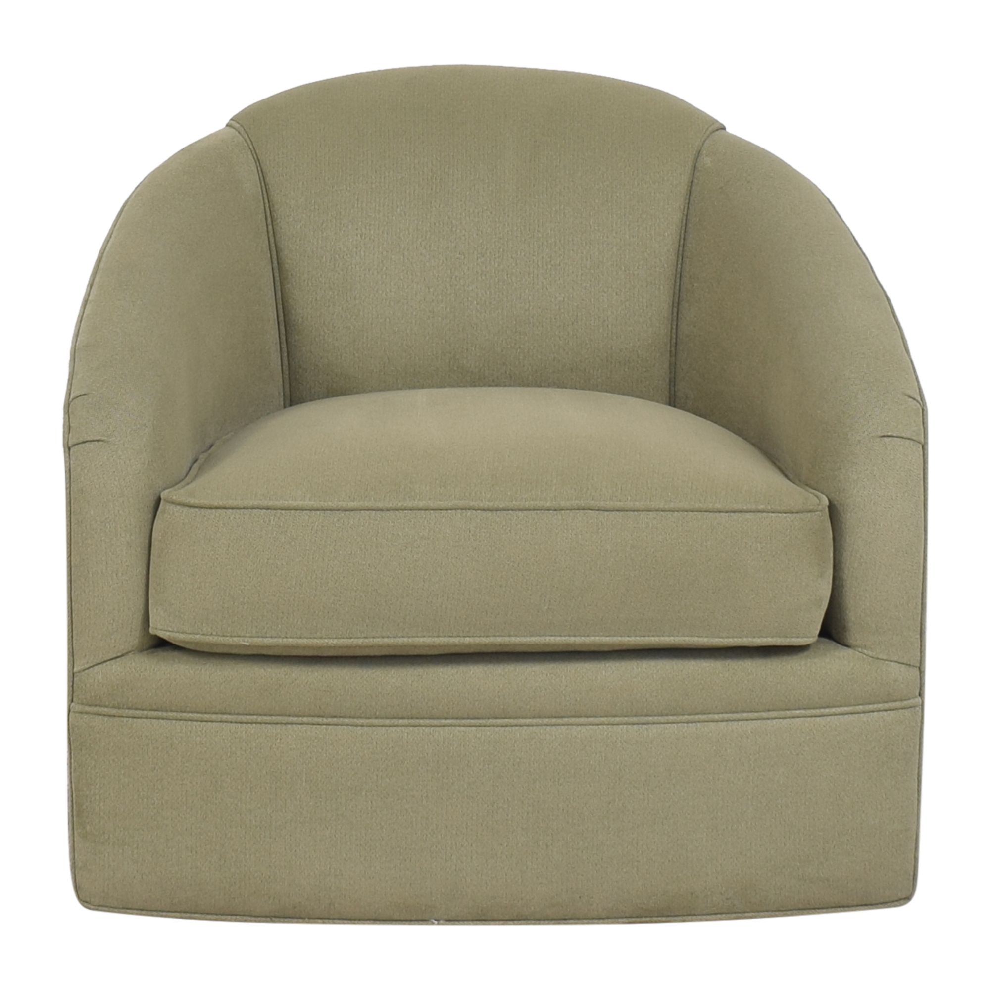 Maurice Villency Maurice Villency Cushion Tub Swivel Chair coupon
