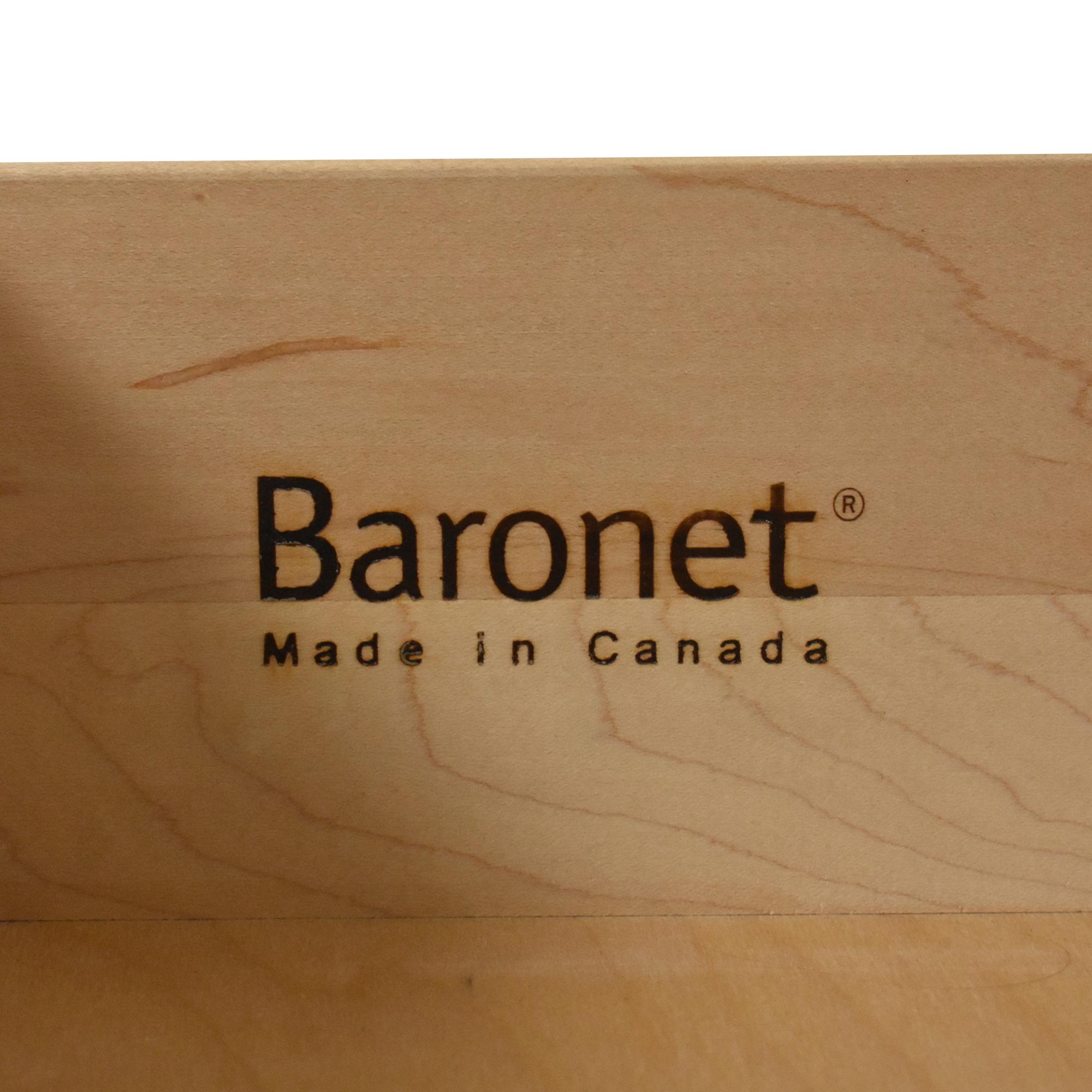 Baronet Baronet Single Drawer Nightstand ct