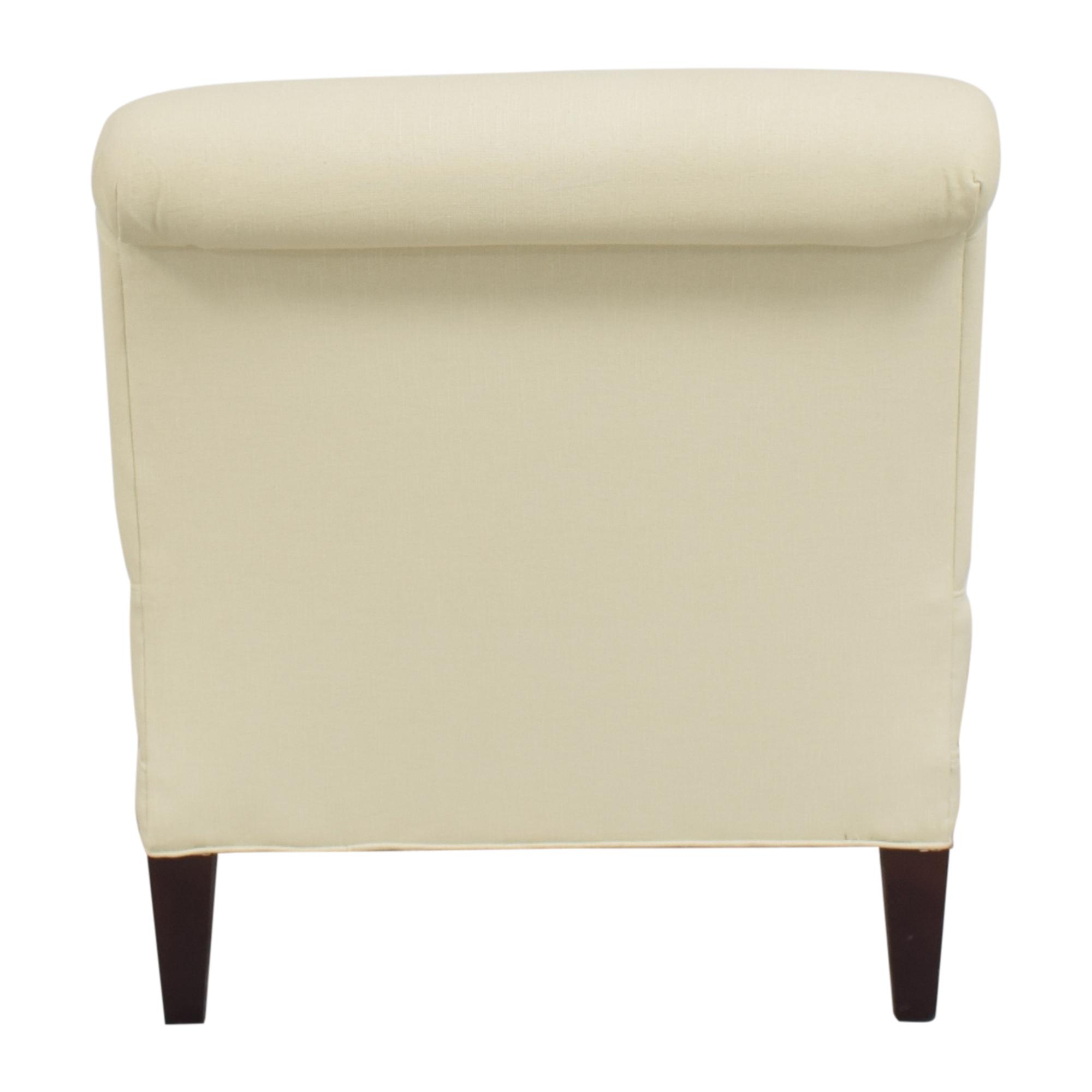 Crate & Barrel Crate & Barrel Pierre Slipper Chair Accent Chairs