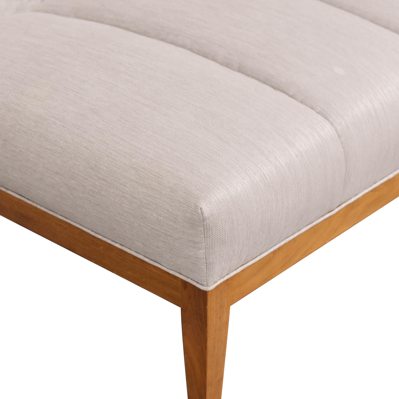 Custom Danish Style Chaise Lounge for sale