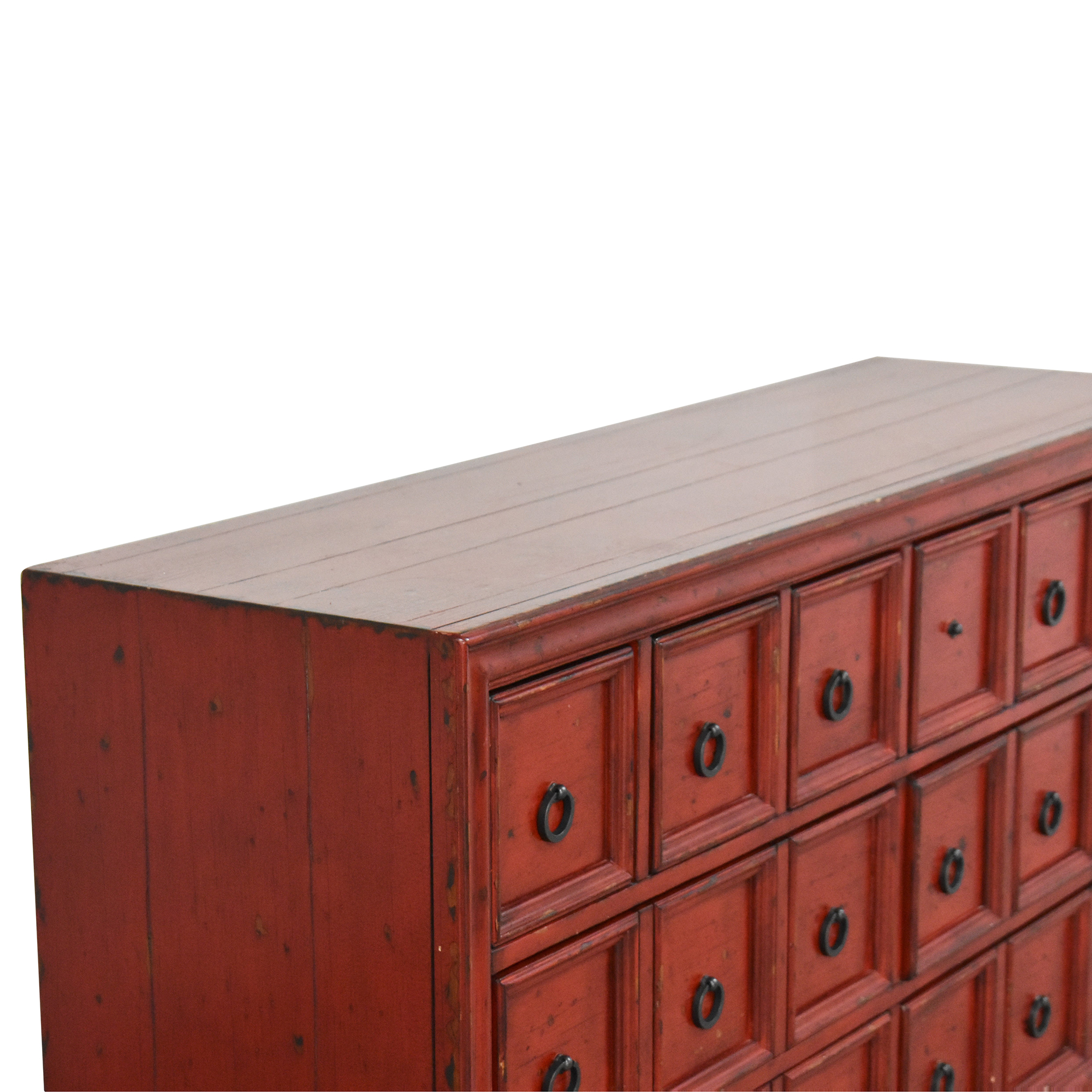 Pottery Barn Apothecary Style Console sale