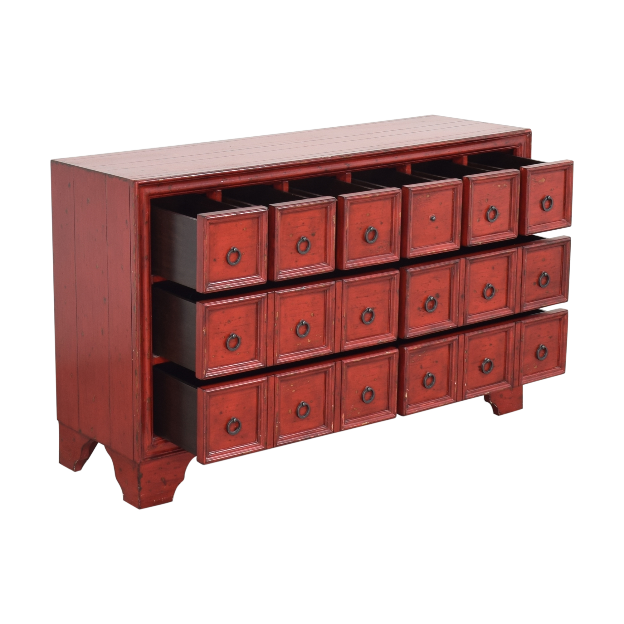 Pottery Barn Pottery Barn Apothecary Style Console Cabinets & Sideboards