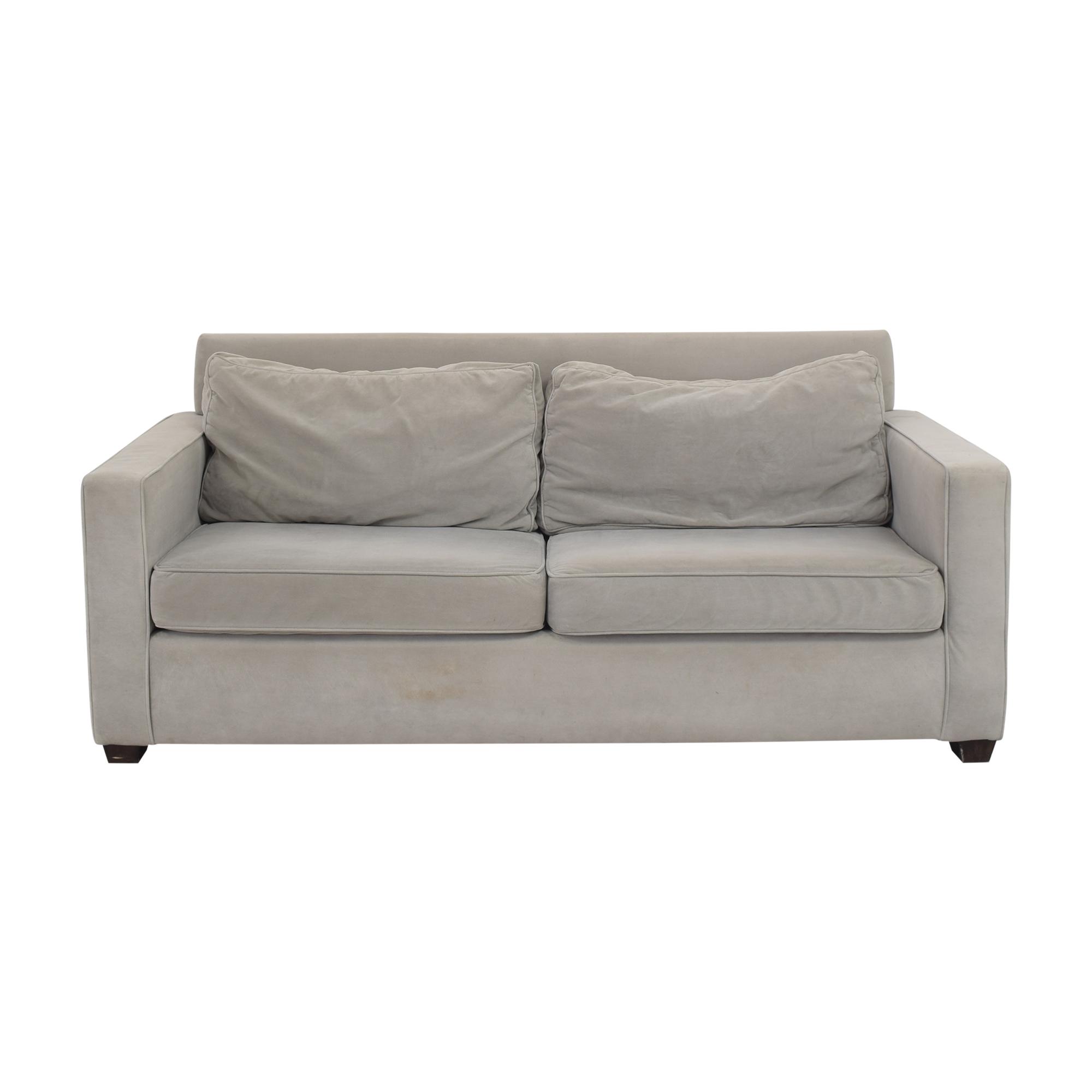 West Elm West Elm Henry Two Cushion Sofa grey