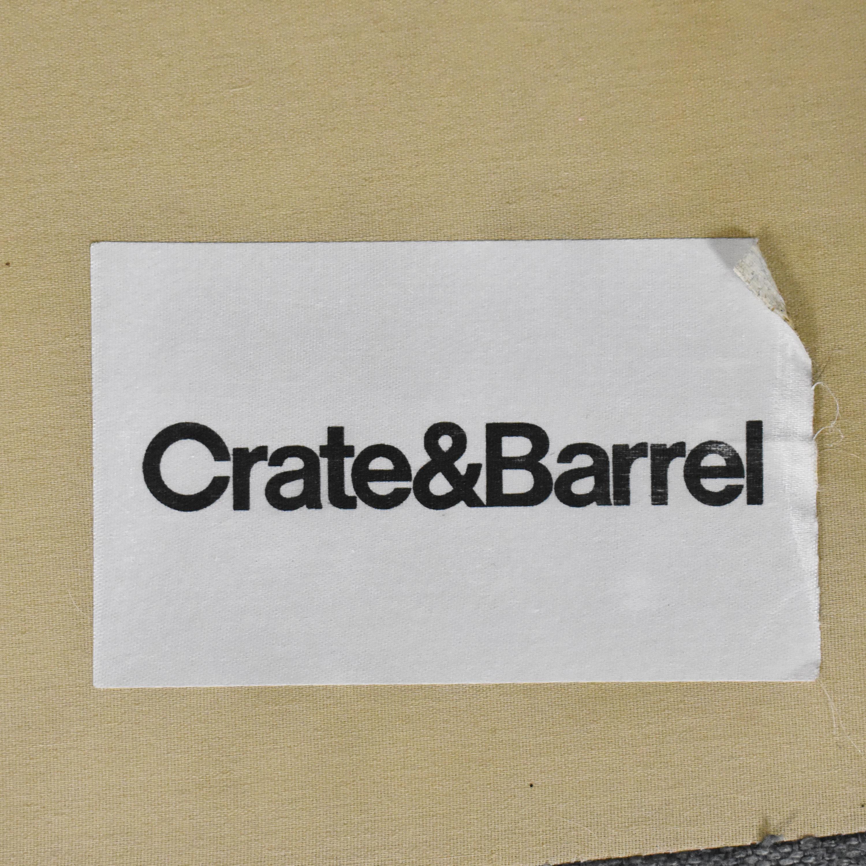 Crate & Barrel Davis Track Arm Sofa sale