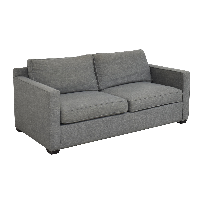 Crate & Barrel Davis Track Arm Sofa / Classic Sofas