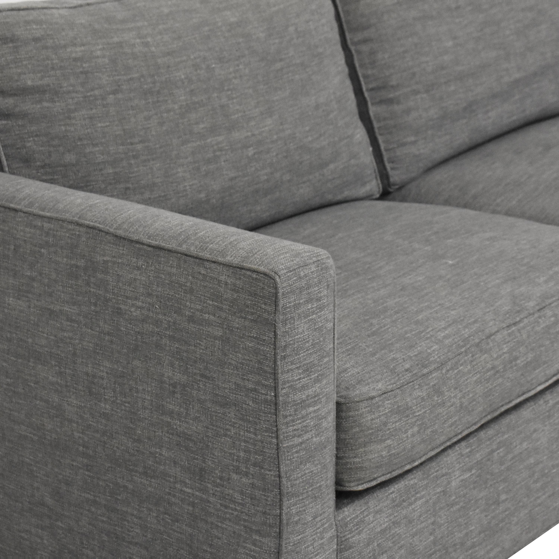buy Crate & Barrel Davis Track Arm Sofa Crate & Barrel Classic Sofas