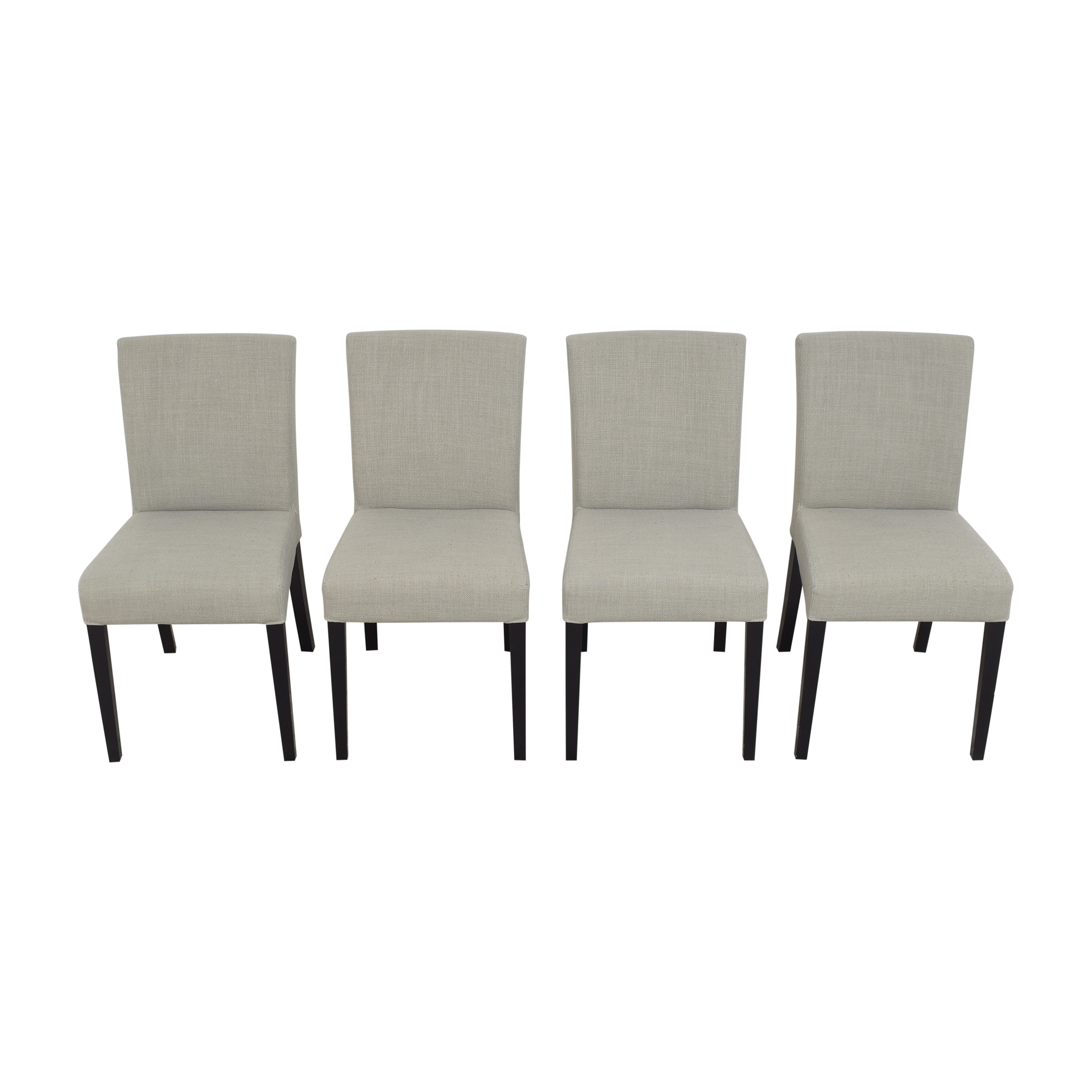 buy Crate & Barrel Miles Upholstered Dining Chairs Crate & Barrel Chairs
