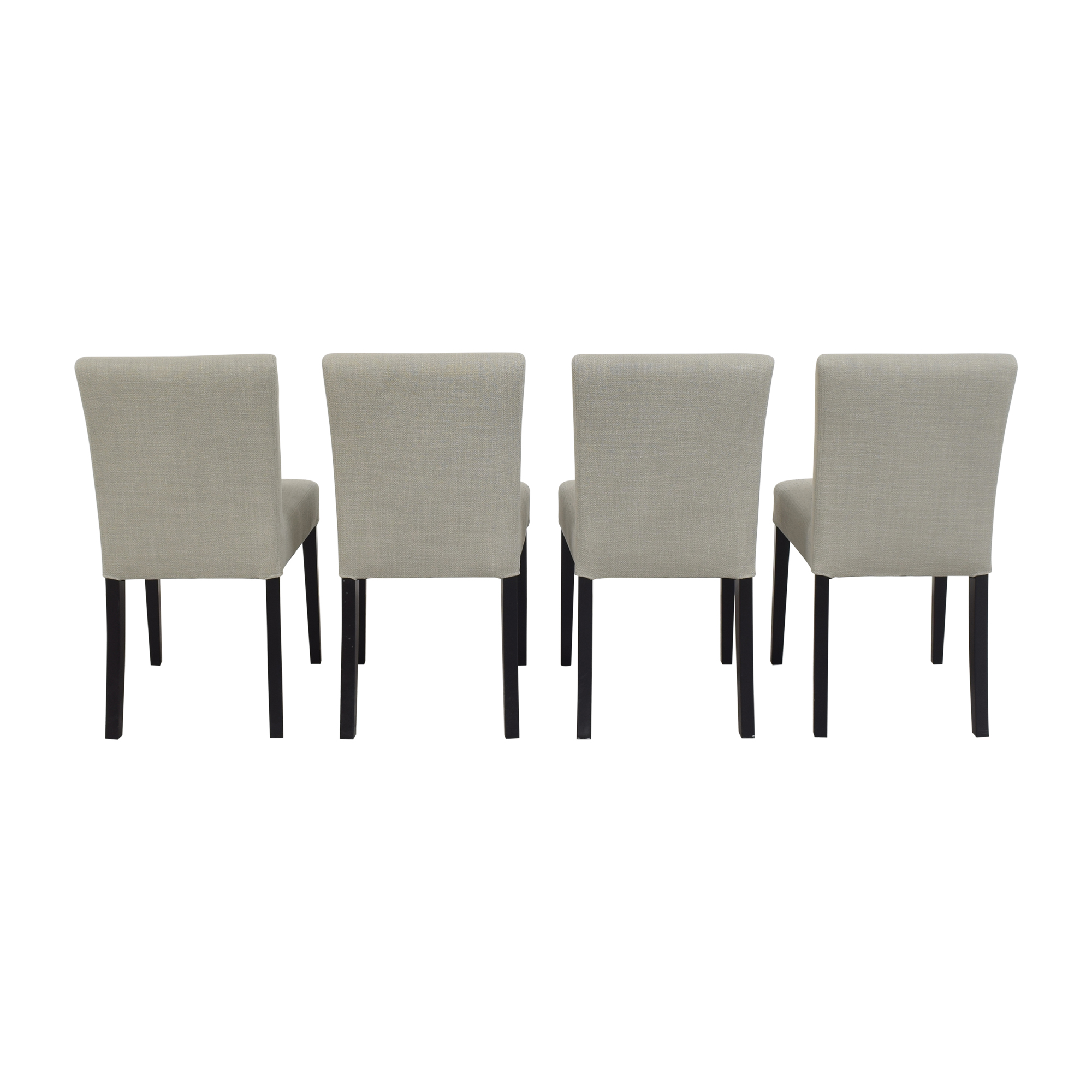 Crate & Barrel Crate & Barrel Miles Upholstered Dining Chairs used