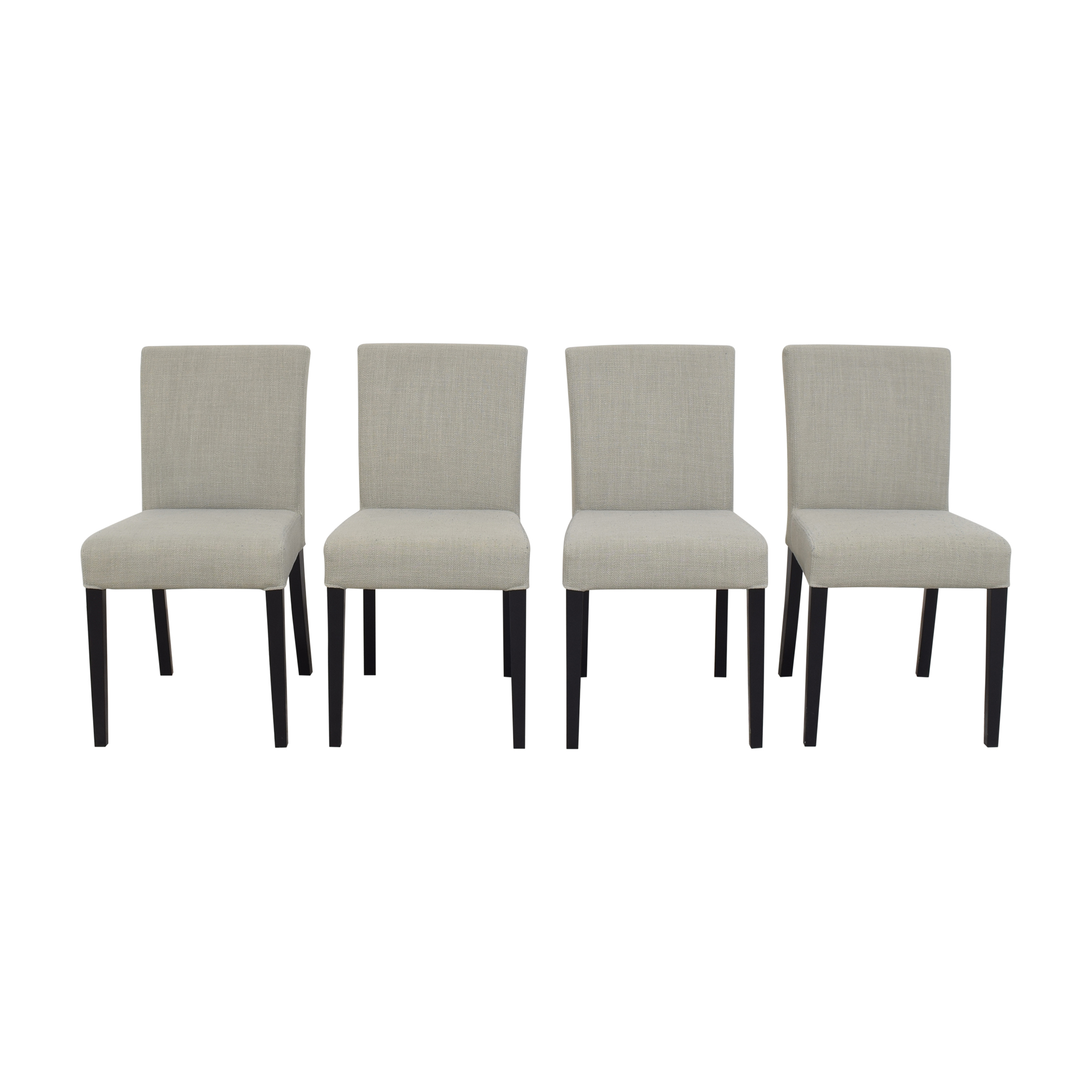 Crate & Barrel Crate & Barrel Miles Upholstered Dining Chairs ct