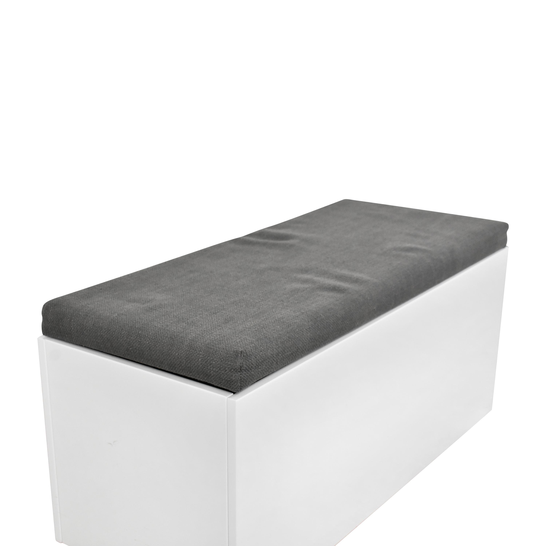 CB2 CB2 Catch-All Storage Bench second hand