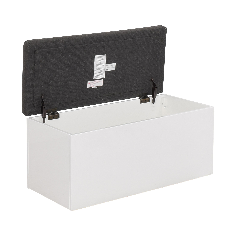 CB2 Catch-All Storage Bench / Ottomans