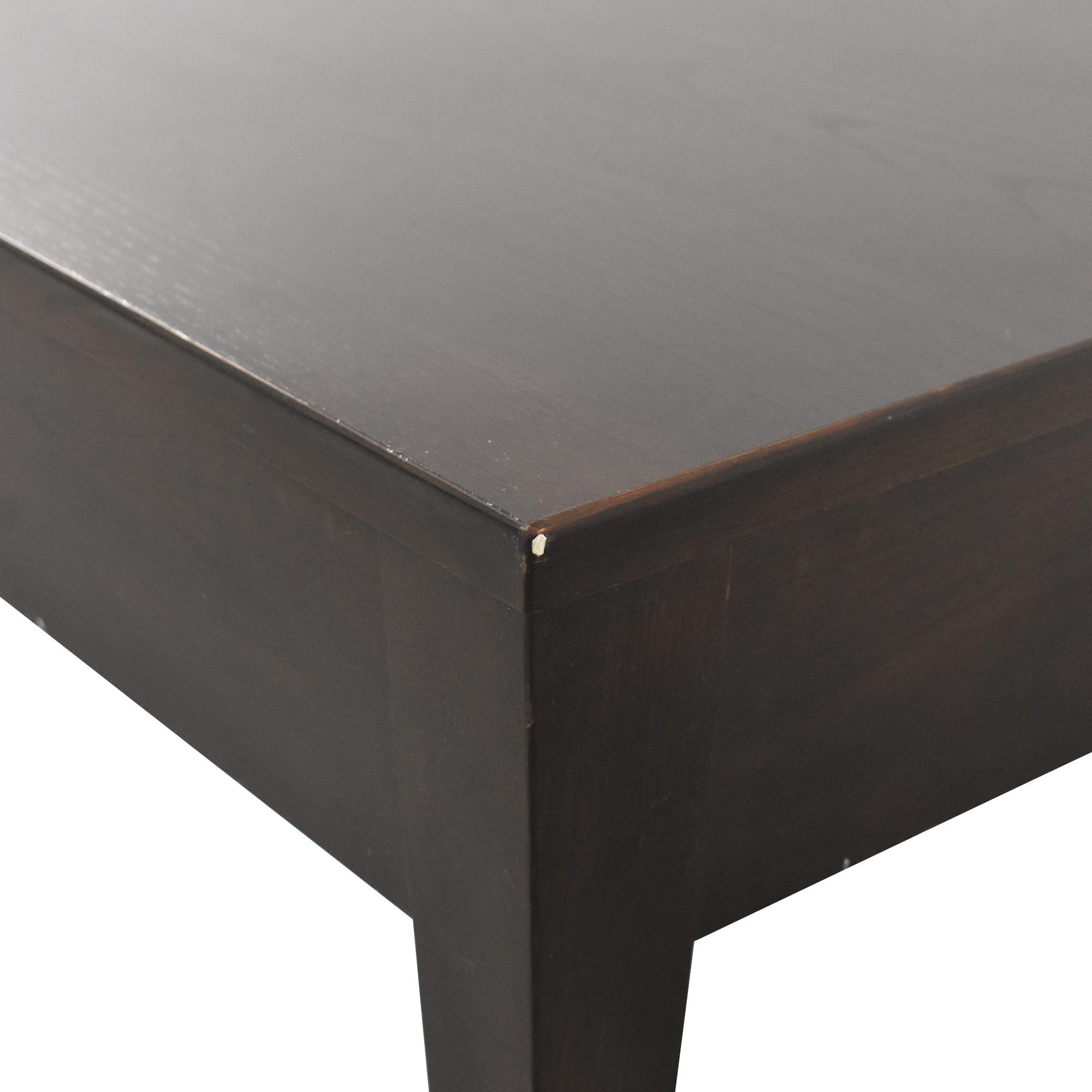 Ethan Allen Ethan Allen Single Drawer End Table ct