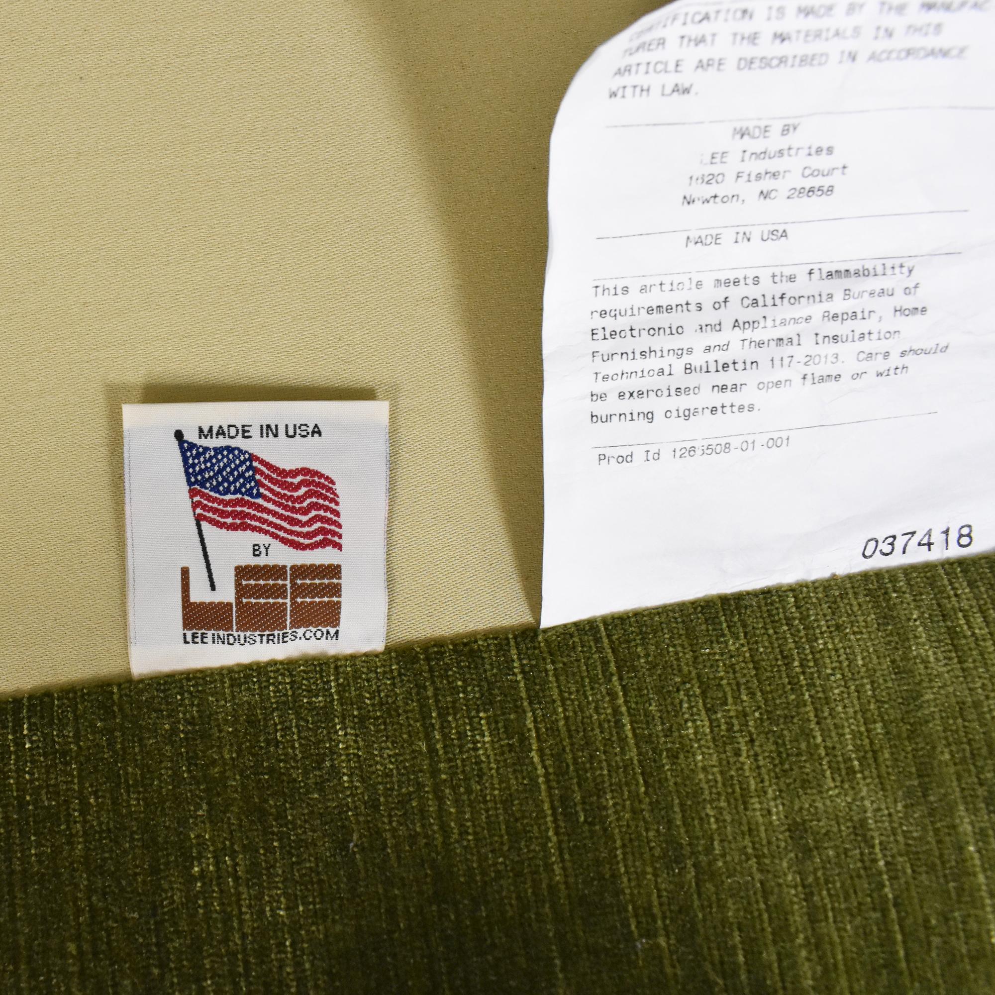 Lee Industries Lee Industries Custom Upholstered Chesterfield Sofa