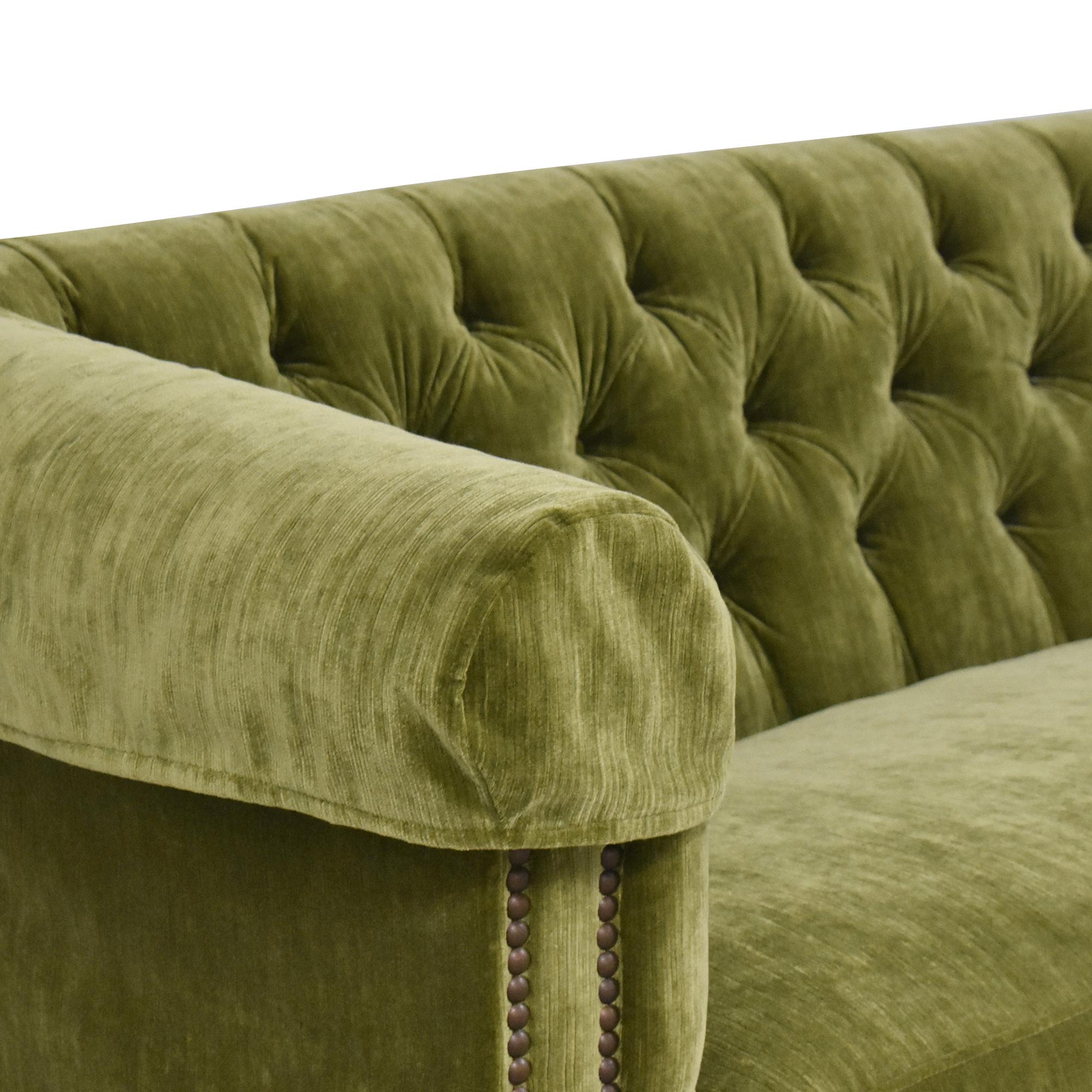 buy Lee Industries Custom Upholstered Chesterfield Sofa Lee Industries Classic Sofas