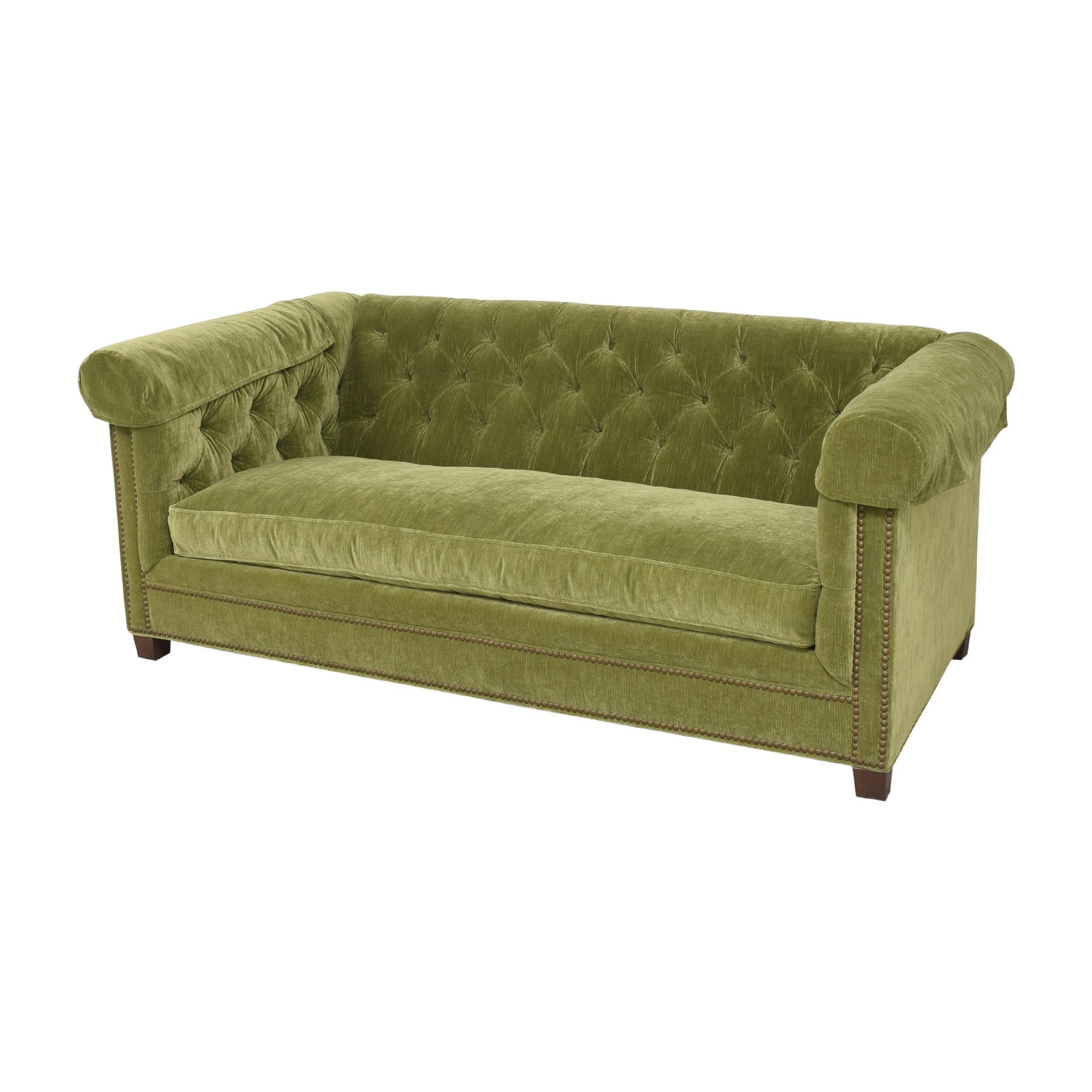 shop Lee Industries Lee Industries Custom Upholstered Chesterfield Sofa online