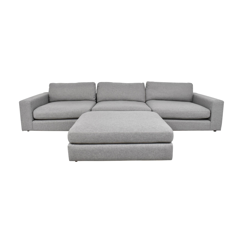 buy Four Hands Four Hands Bloor Sofa with Ottoman online