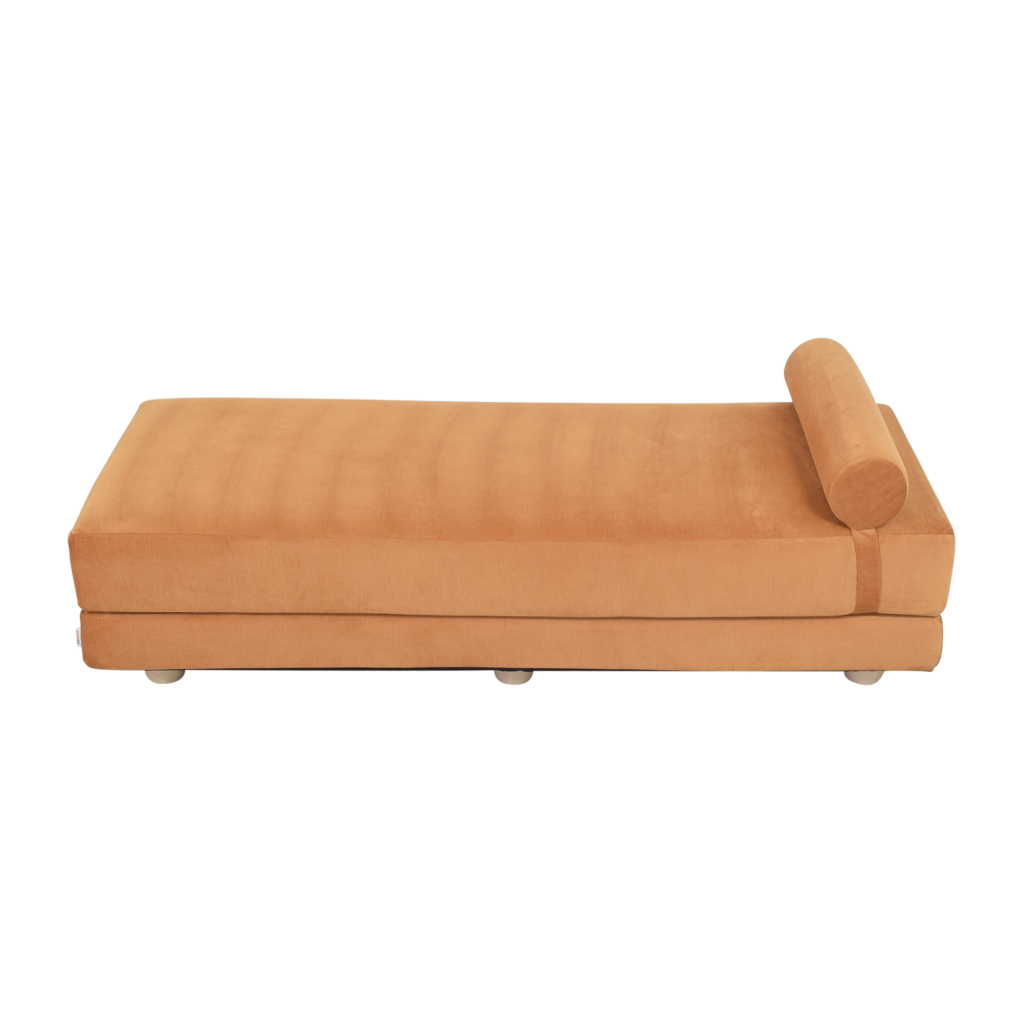 Overstock Overstock Jaxx Artemis Daybed Convertible Sleeper orange