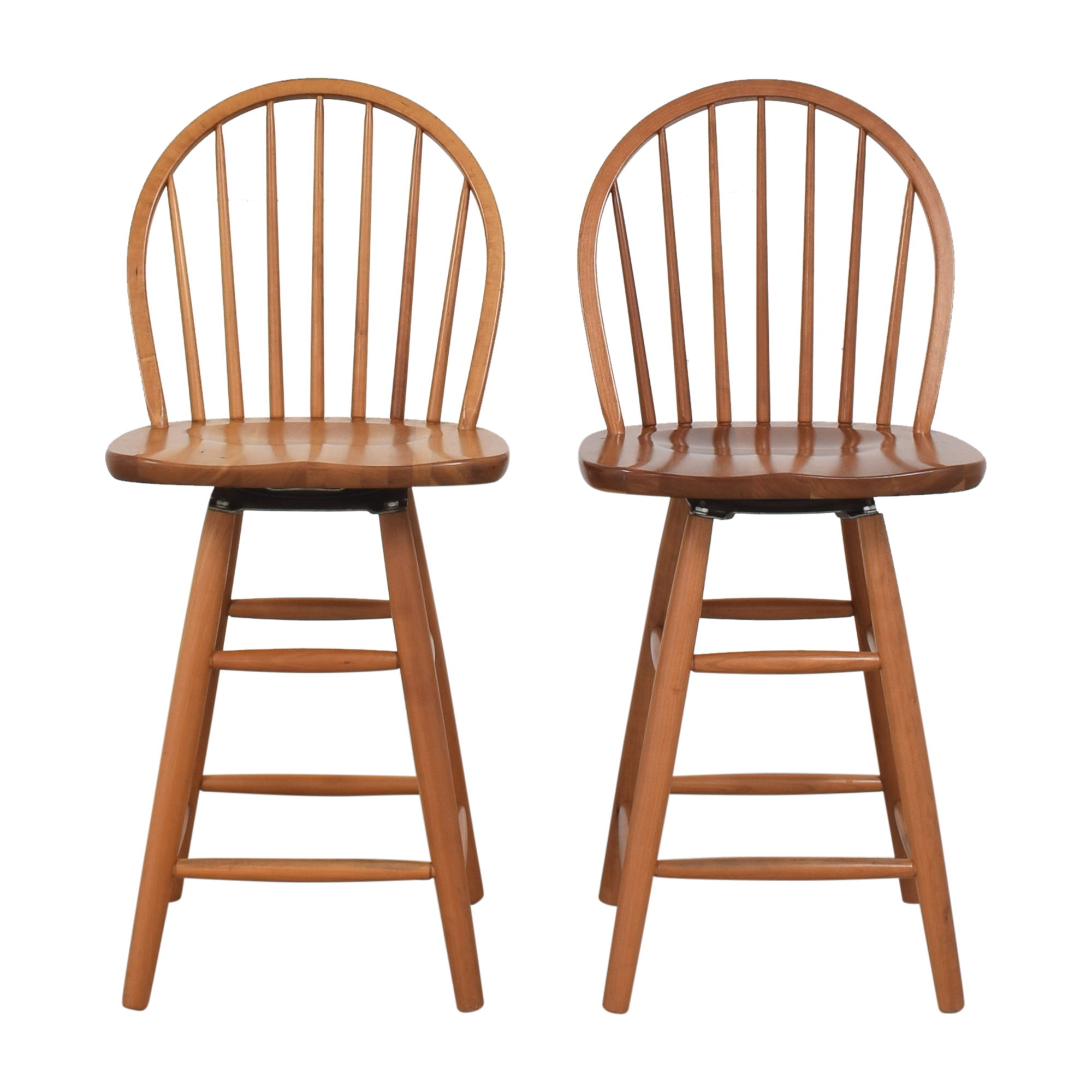 Clearlake  ClearLake Furniture Bow Back Swivel Counter Stools nyc