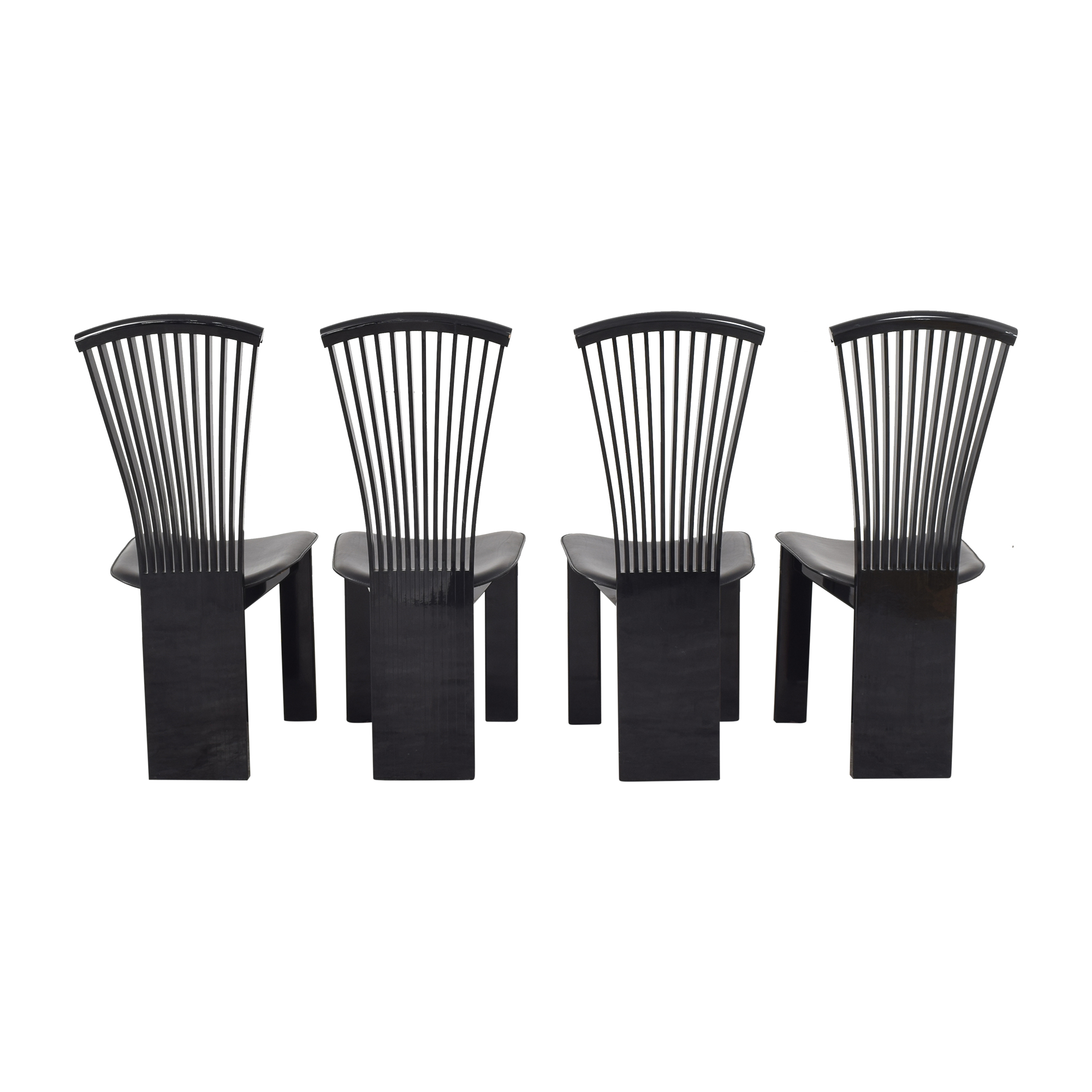 Pietro Costantini Pietro Costantini High Back Dining Chairs second hand