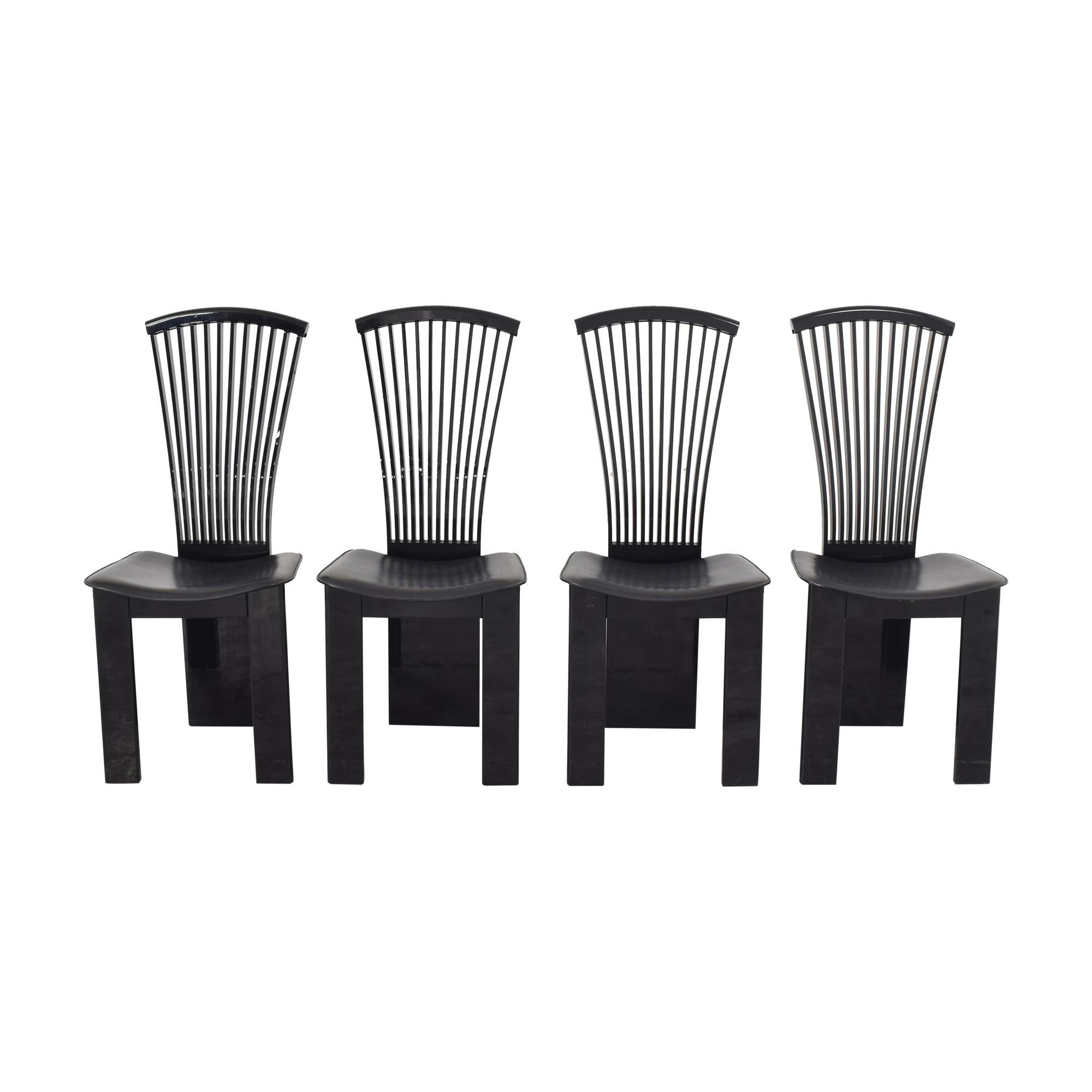 Pietro Costantini Pietro Costantini High Back Dining Chairs black