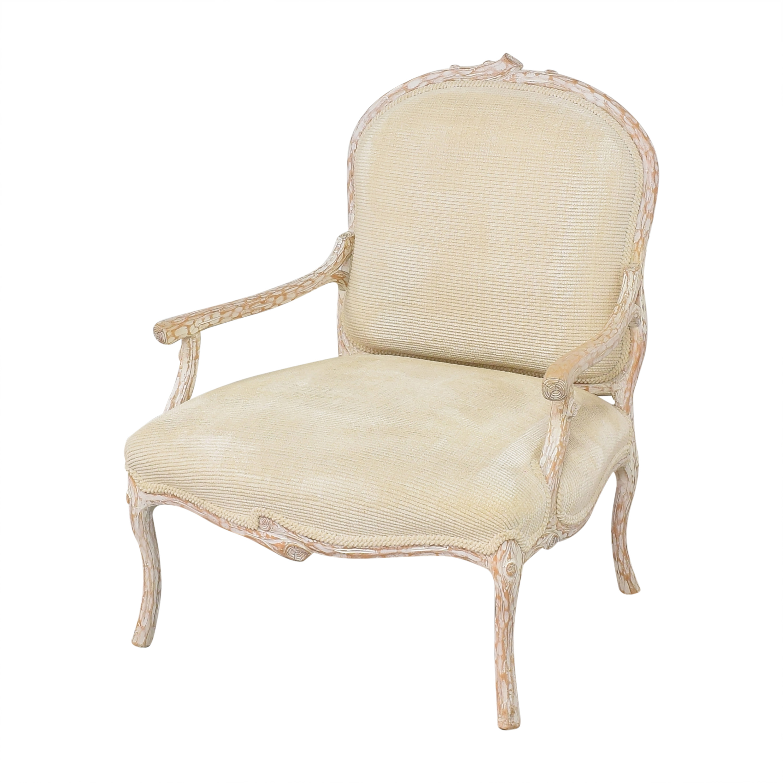 William Switzer Fine Furniture William Switzer Accent Chair cream and white