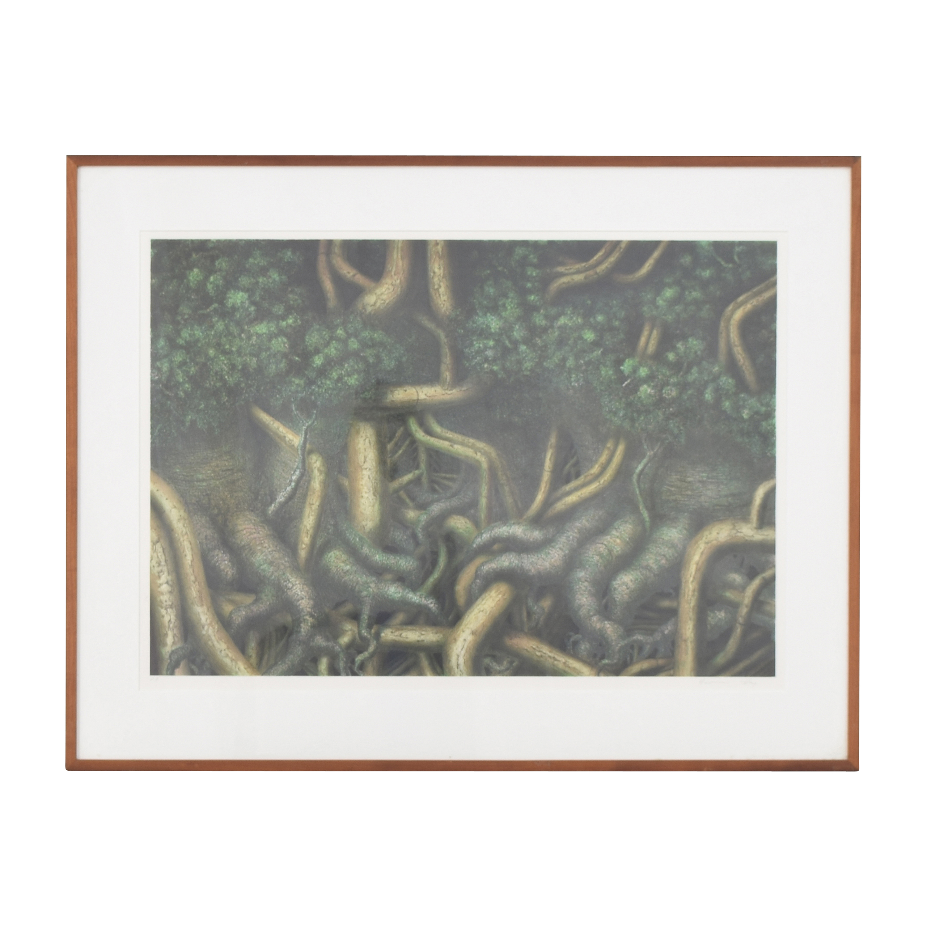 Hanna Kay Tree Roots II Framed Wall Art Wall Art