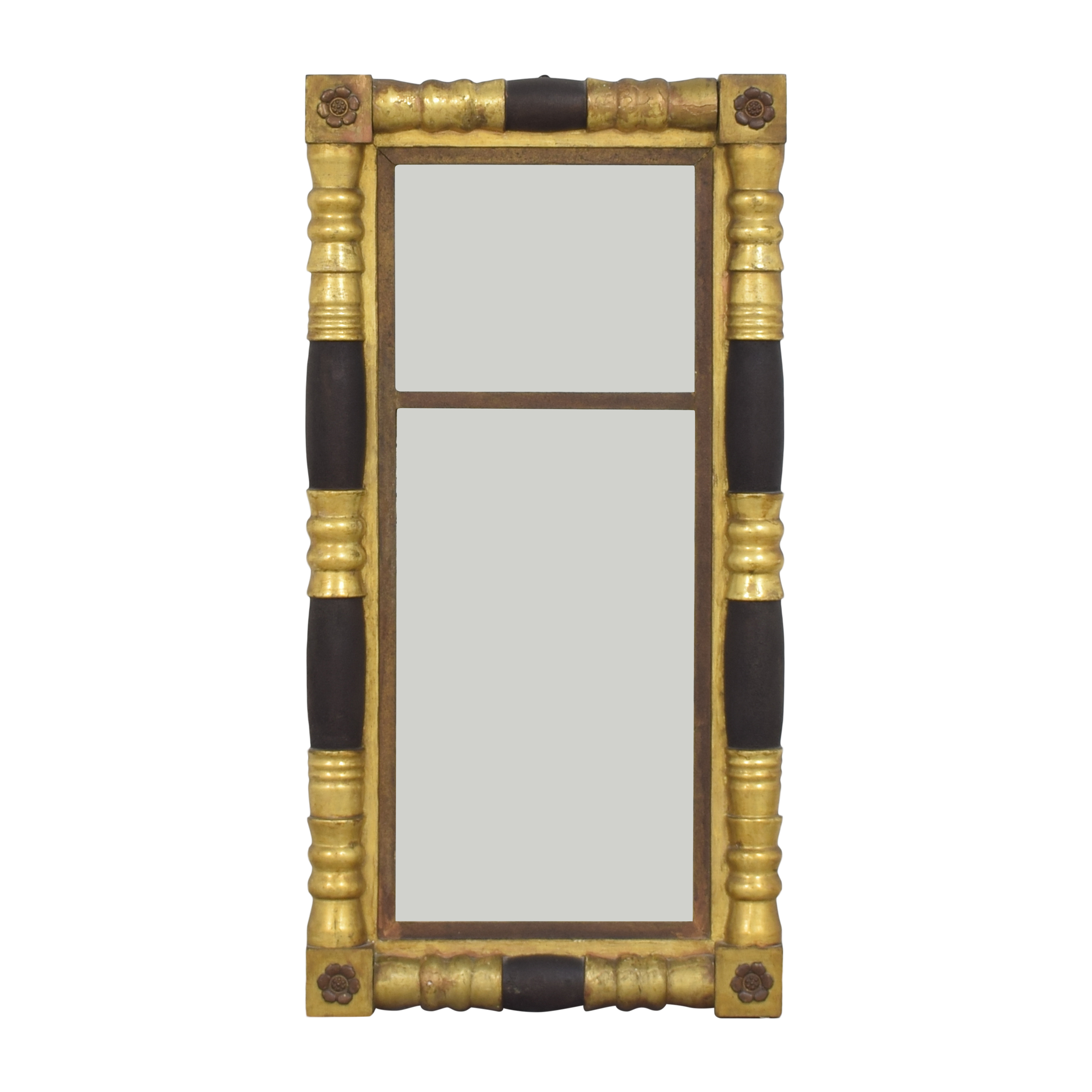 Vintage Colonial-Style Framed Mirror / Decor