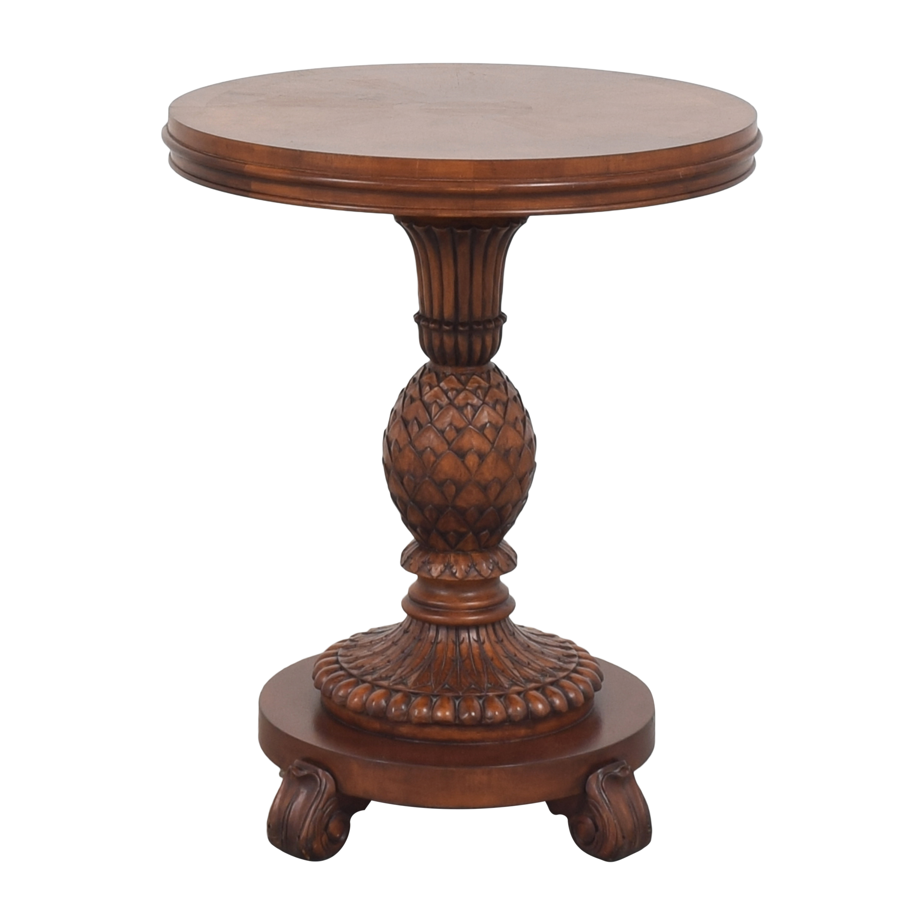 buy Ethan Allen Pineapple Accent Table Ethan Allen Tables