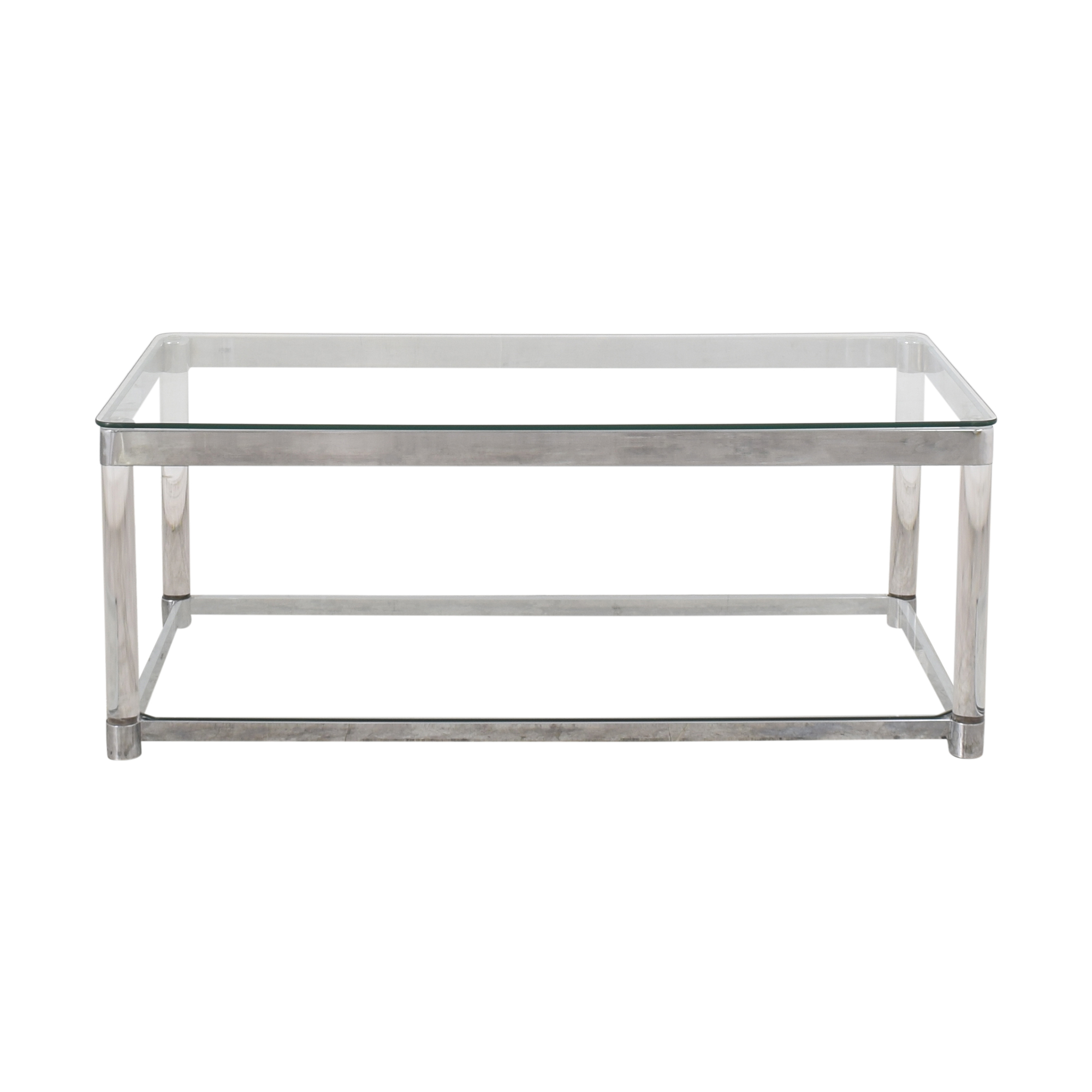 Transparent Coffee Table second hand