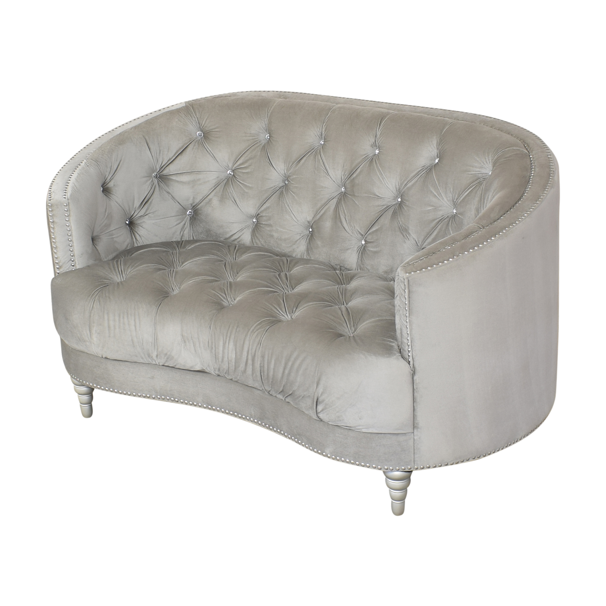 Coaster Fine Furniture Coaster Fine Furniture Avonlea Tufted Loveseat ma