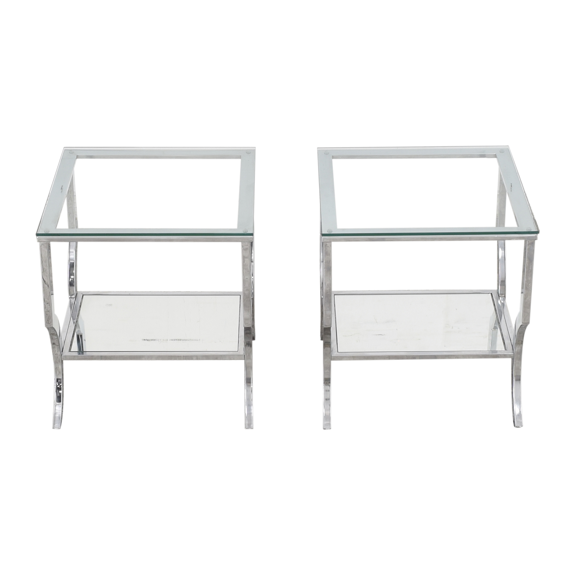 Transparent End Tables for sale