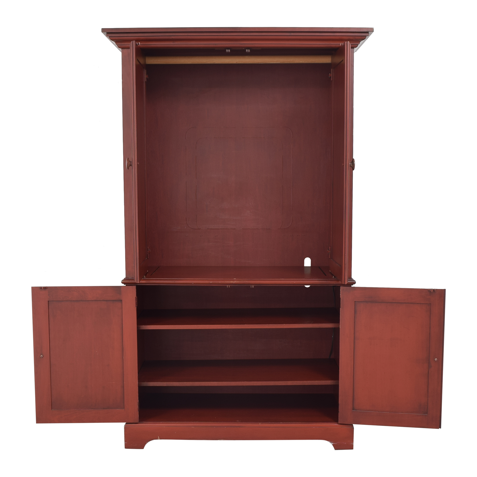 buy Huffman Koos Shaker-Style Armoire Huffman Koos Storage
