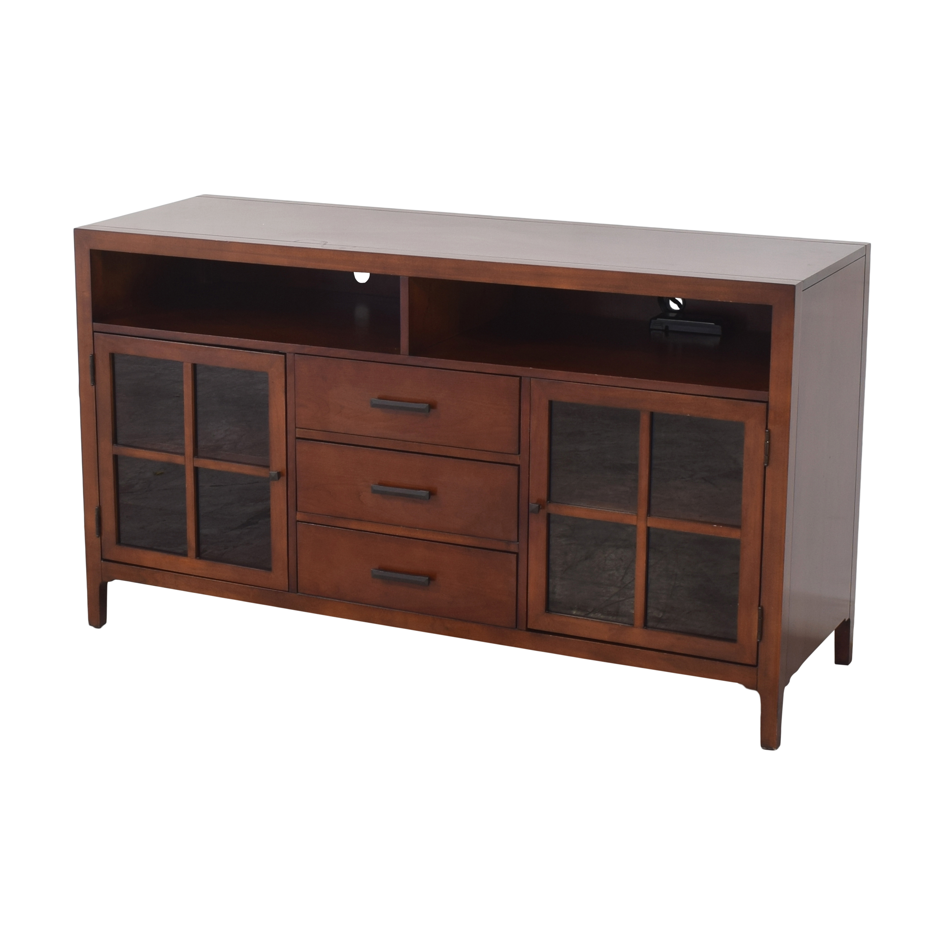 shop Raymour & Flanigan Entertainment Console by Bernhardt Raymour & Flanigan Storage