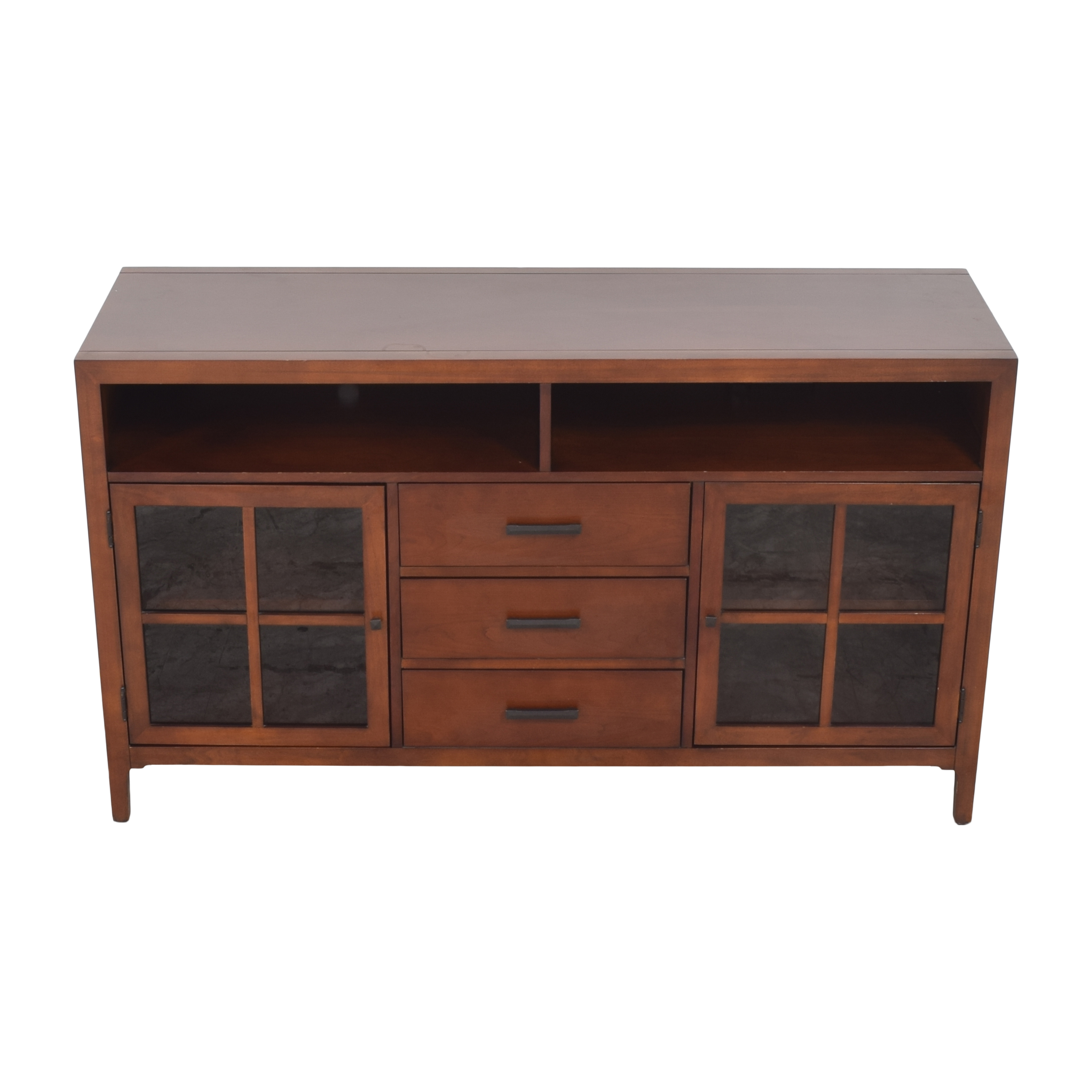 Raymour & Flanigan Raymour & Flanigan Entertainment Console by Bernhardt Storage