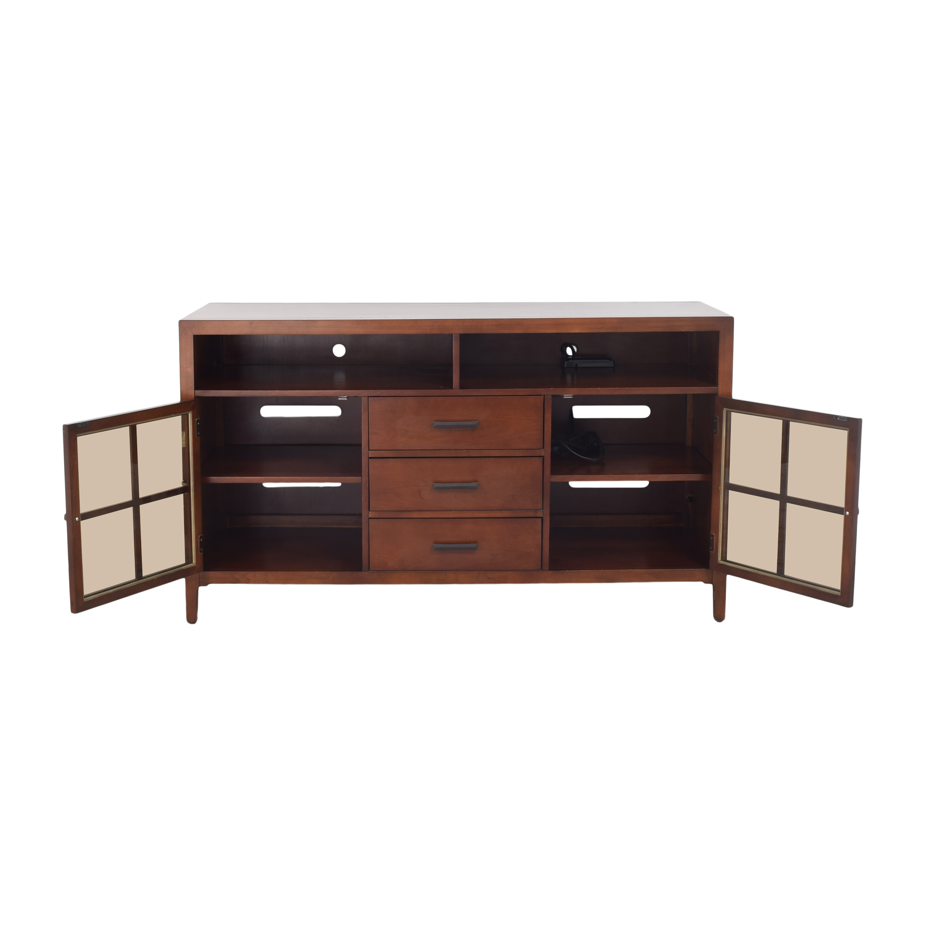 Raymour & Flanigan Raymour & Flanigan Entertainment Console by Bernhardt nj
