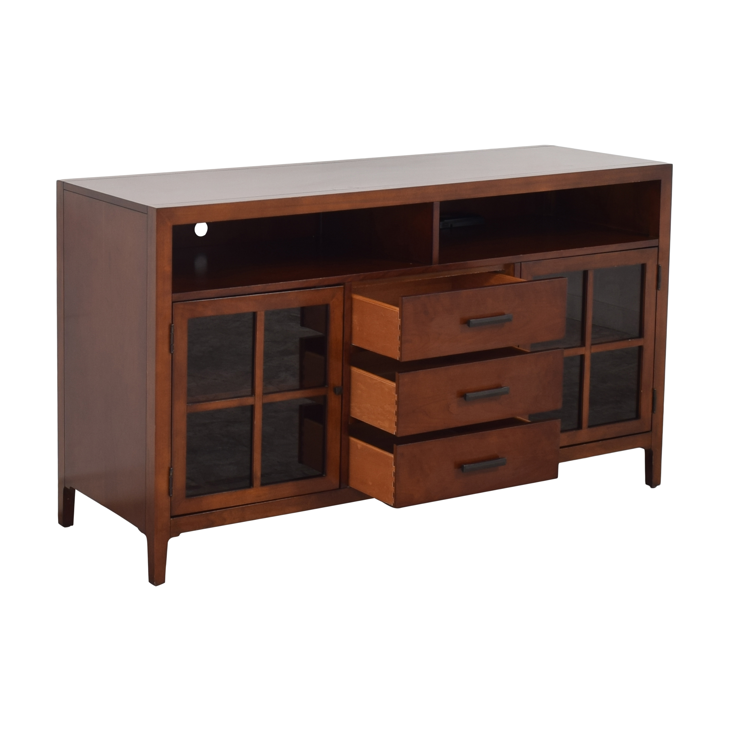 Raymour & Flanigan Raymour & Flanigan Entertainment Console by Bernhardt discount