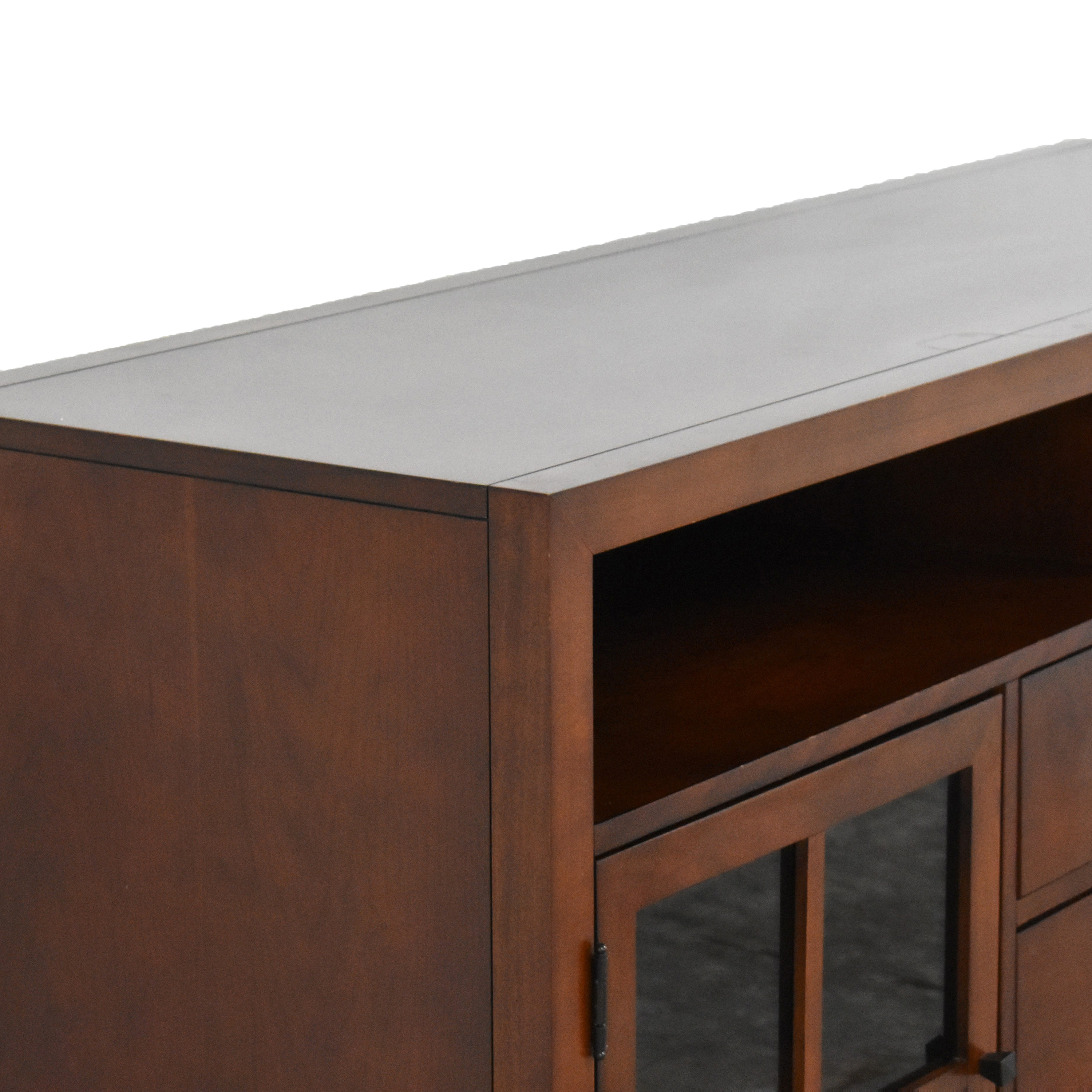 shop Raymour & Flanigan Entertainment Console by Bernhardt Raymour & Flanigan