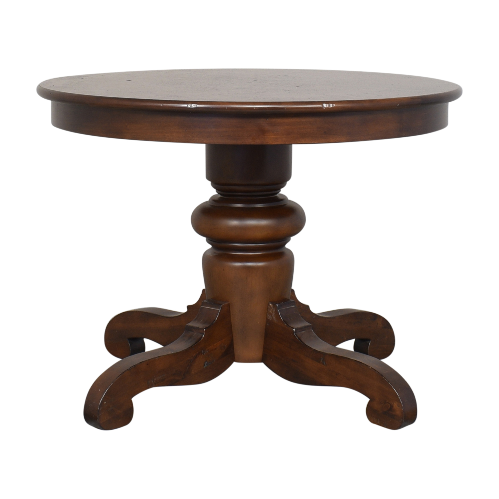 Pottery Barn Tivoli Round Pedestal Dining Table Pottery Barn