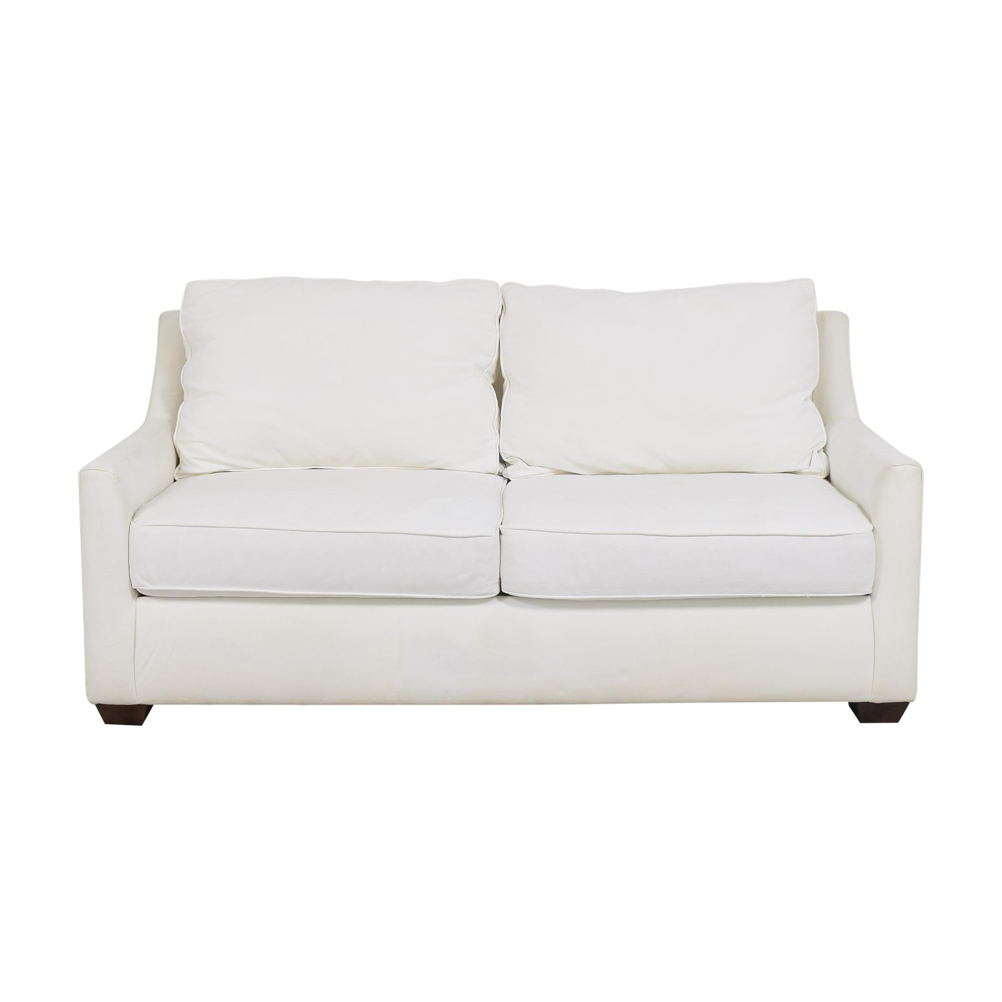 KFI KFI Two Cushion Sofa white
