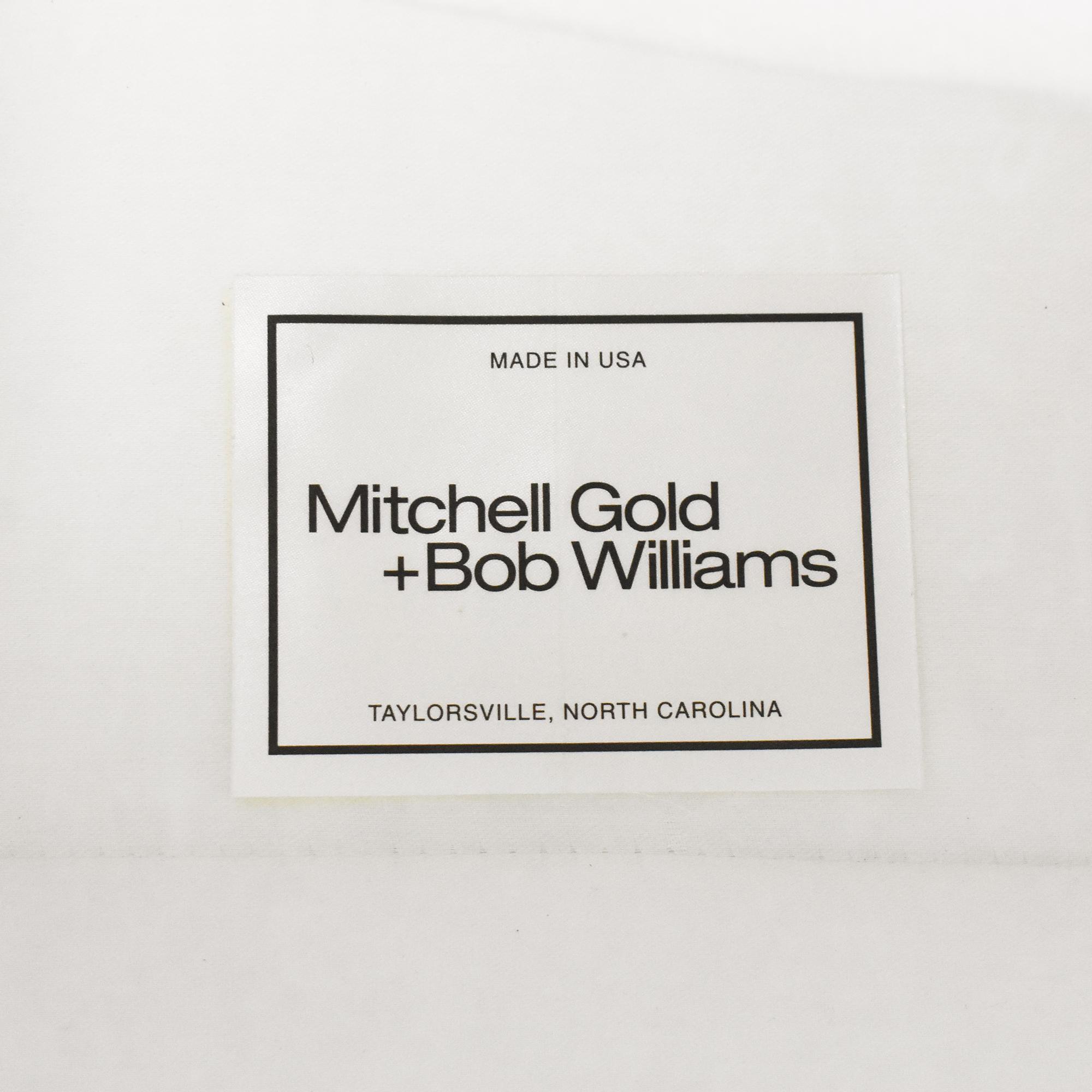 Mitchell Gold + Bob Williams Mitchell Gold + Bob Williams Slipcovered Arm Chair off white