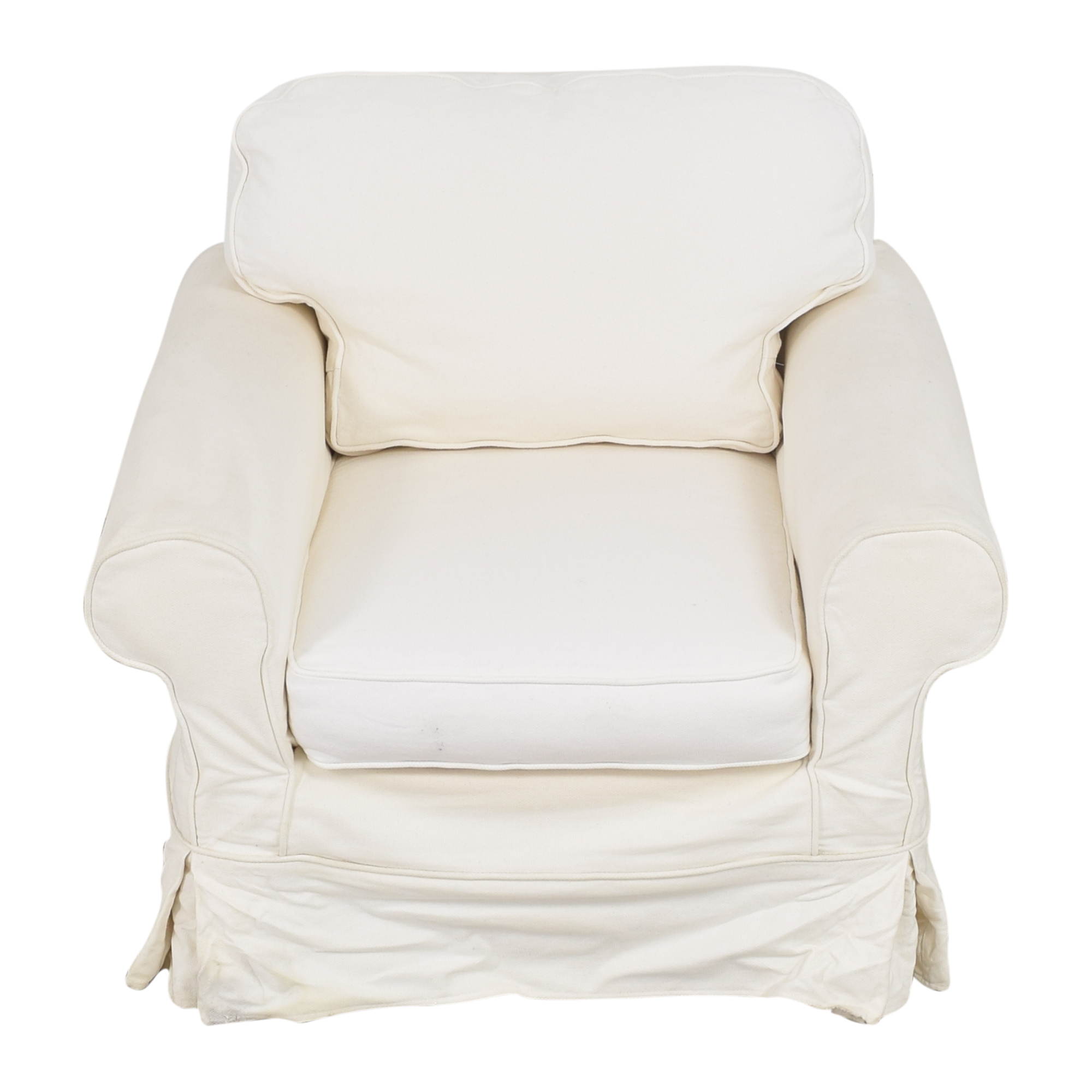 Mitchell Gold + Bob Williams Mitchell Gold + Bob Williams Slipcovered Arm Chair discount