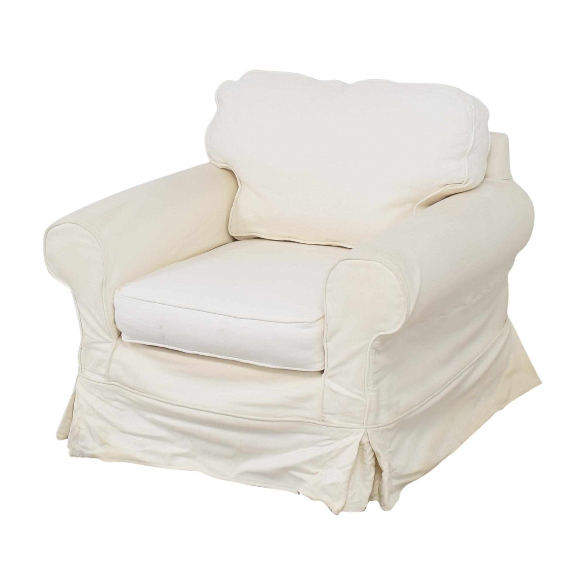 shop Mitchell Gold + Bob Williams Slipcovered Arm Chair Mitchell Gold + Bob Williams Accent Chairs