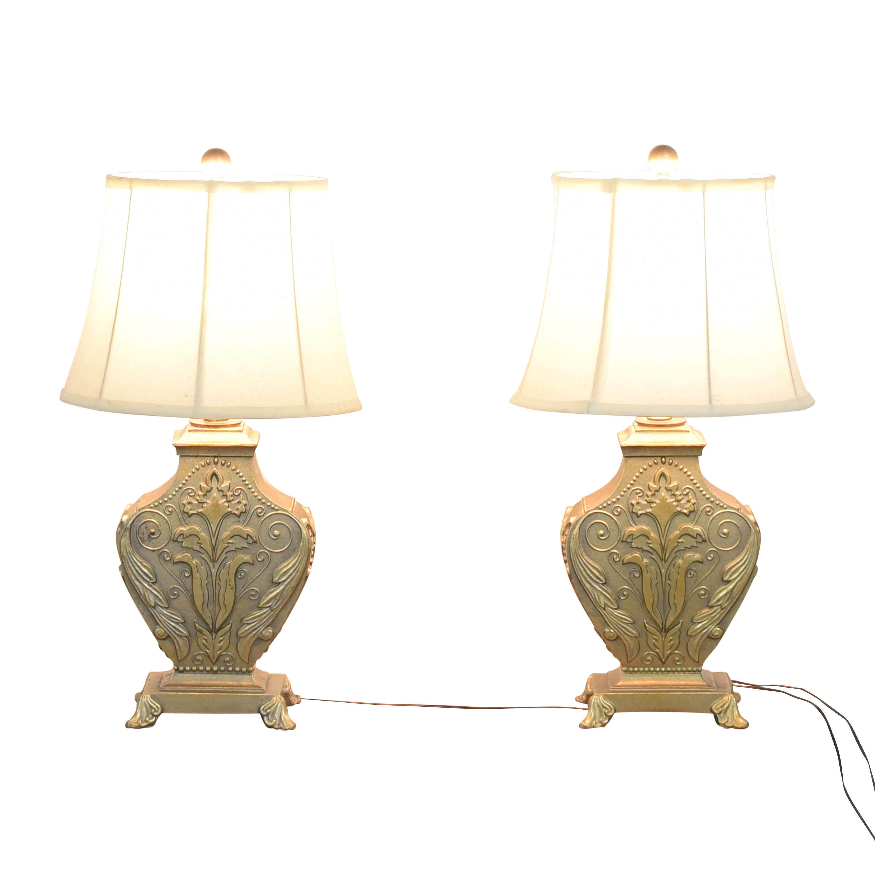Restoration Hardware Restoration Hardware Table Lamps second hand