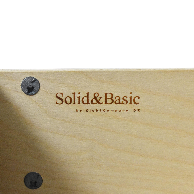 Solid & Basic Two Door Wardrobe / Wardrobes & Armoires
