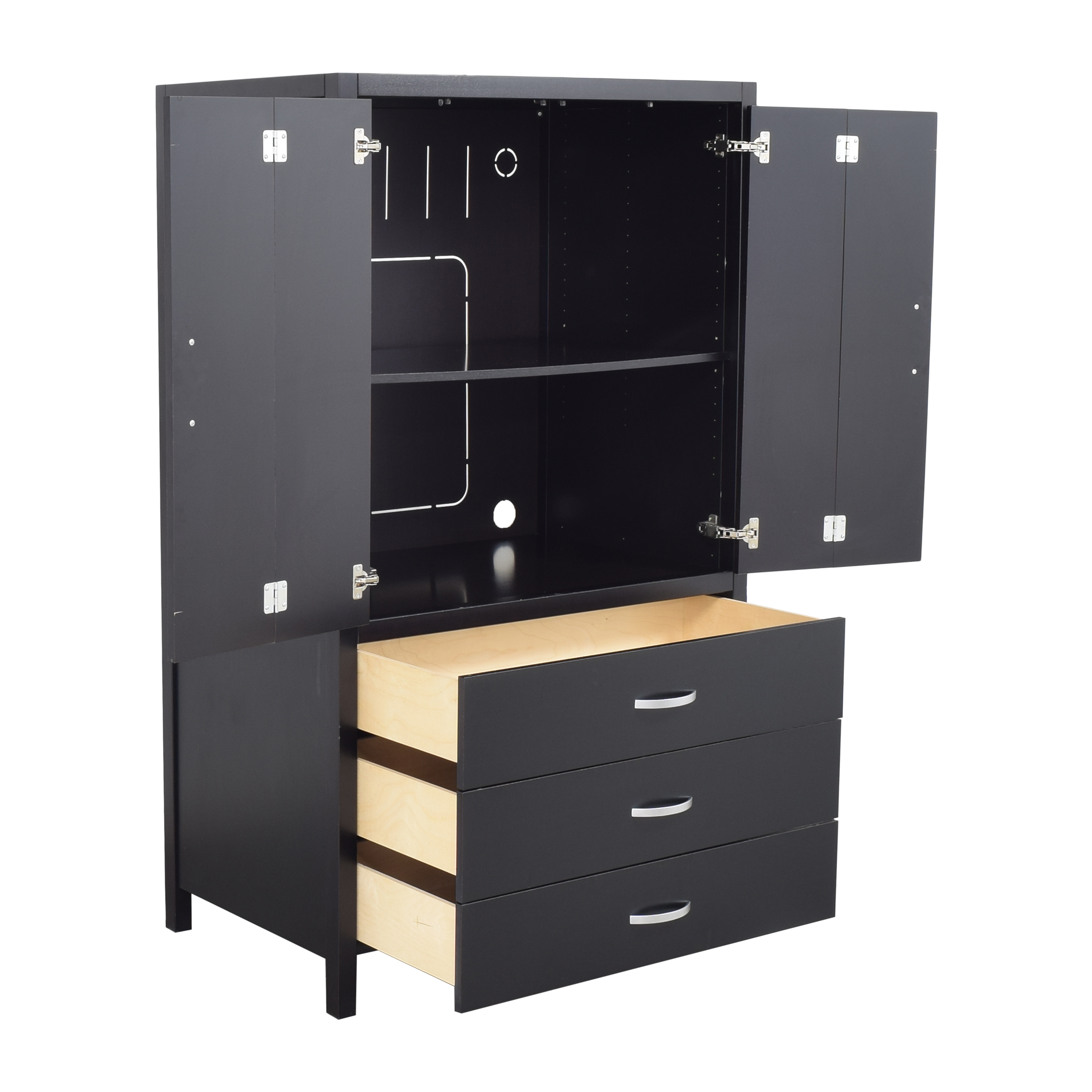 Solid & Basic Solid & Basic Two Door Wardrobe Wardrobes & Armoires