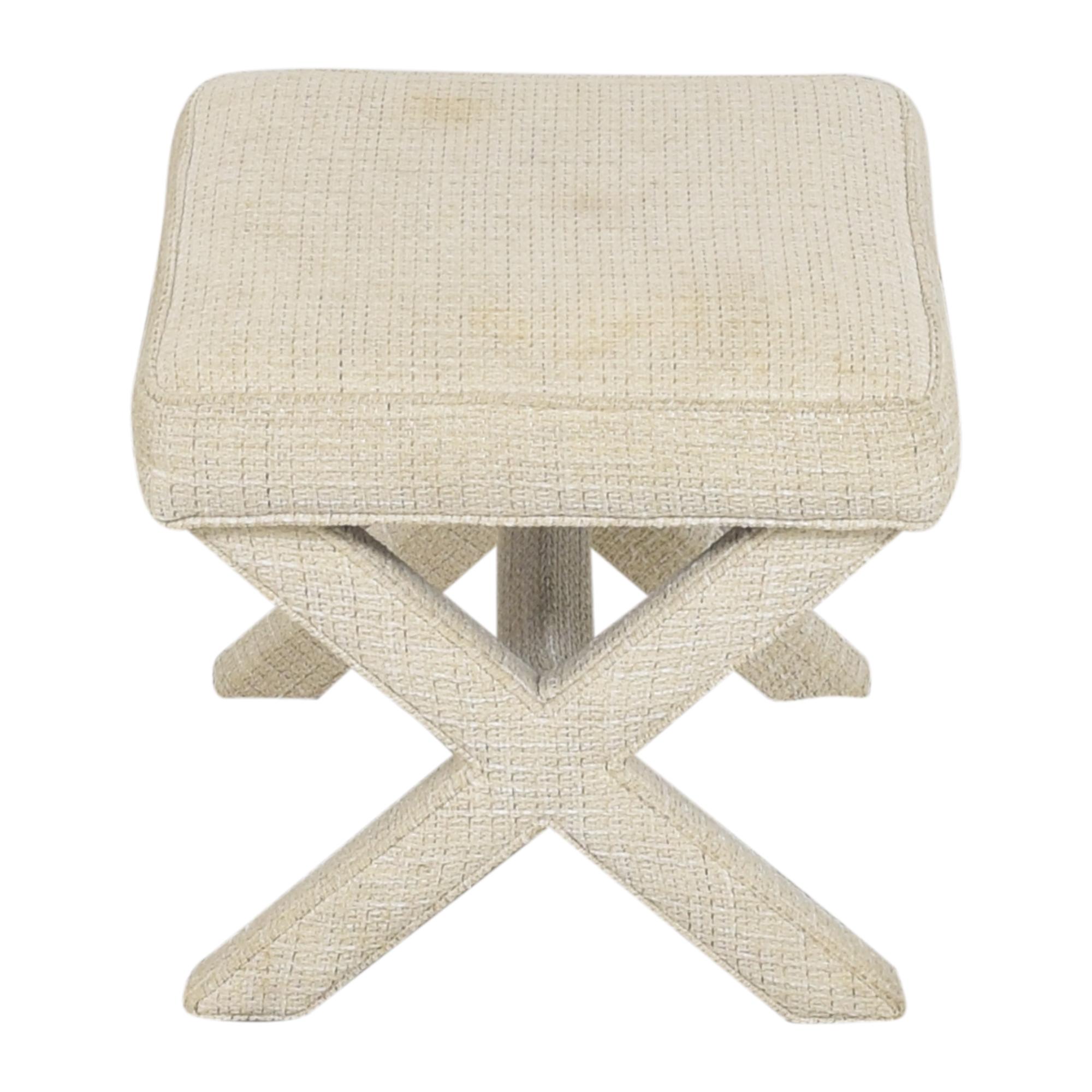 Ballard Designs Ballard Designs X Bench Chairs