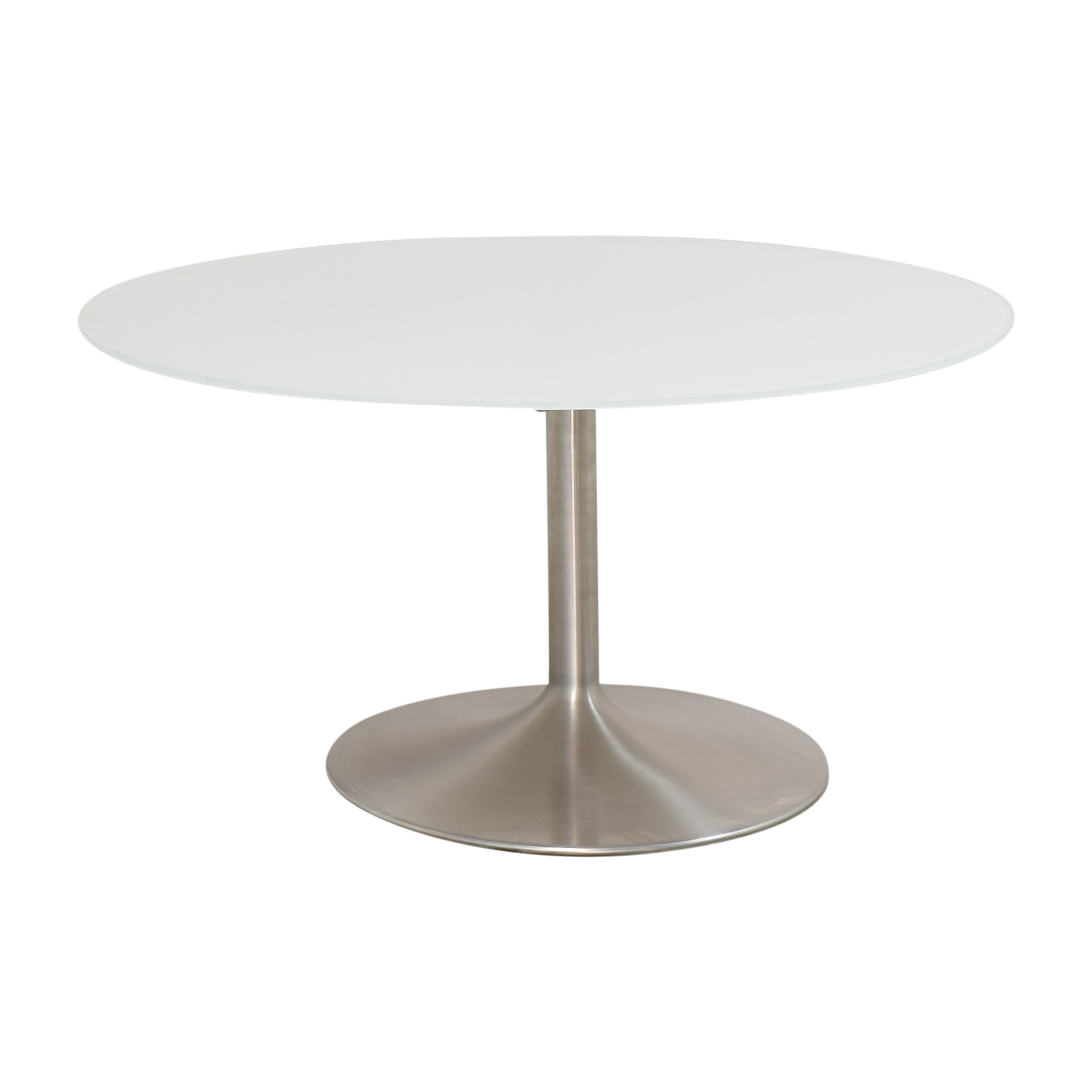 shop Room & Board Aria Round Conference Table Room & Board Dinner Tables