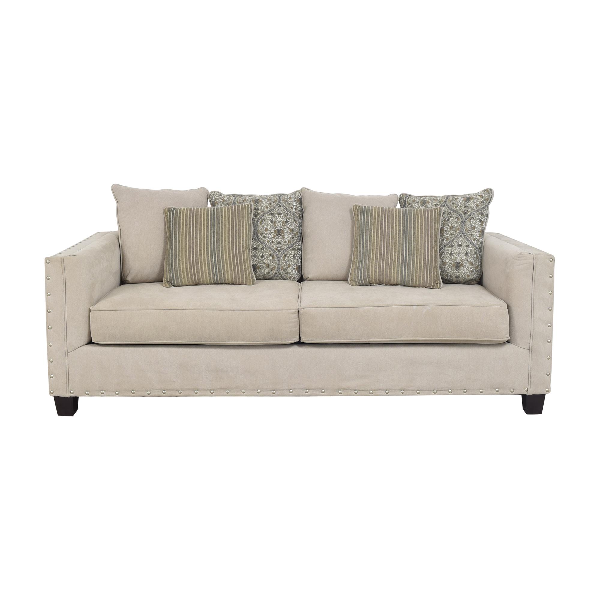 Raymour & Flanigan Two Cushion Sofa Raymour & Flanigan