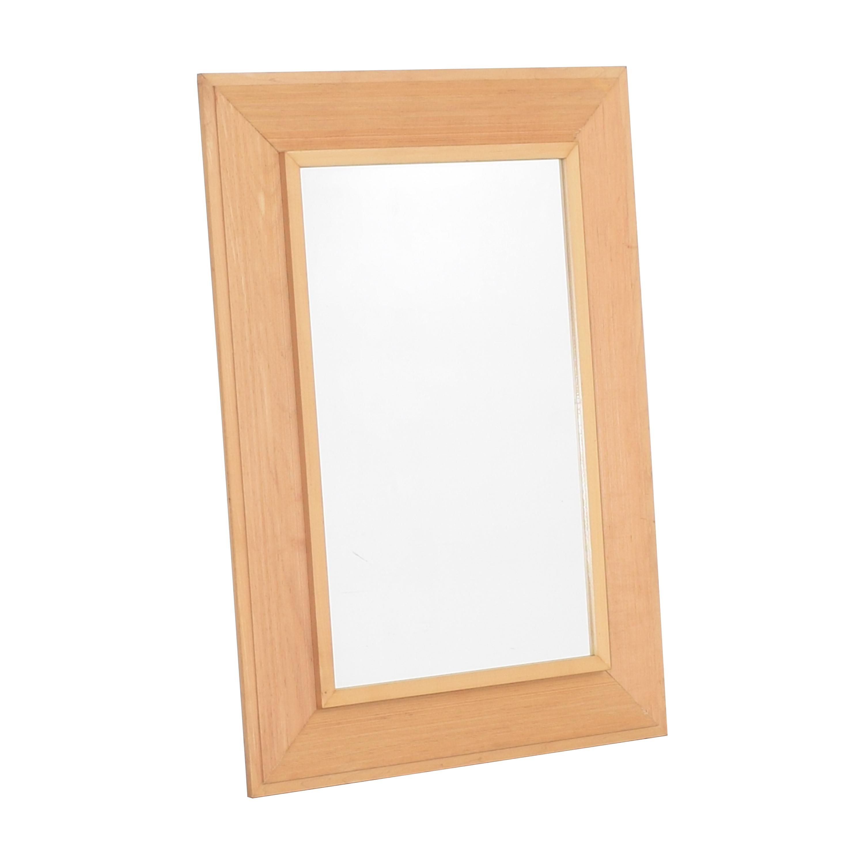 Crate & Barrel Crate & Barrel Framed Mirror second hand